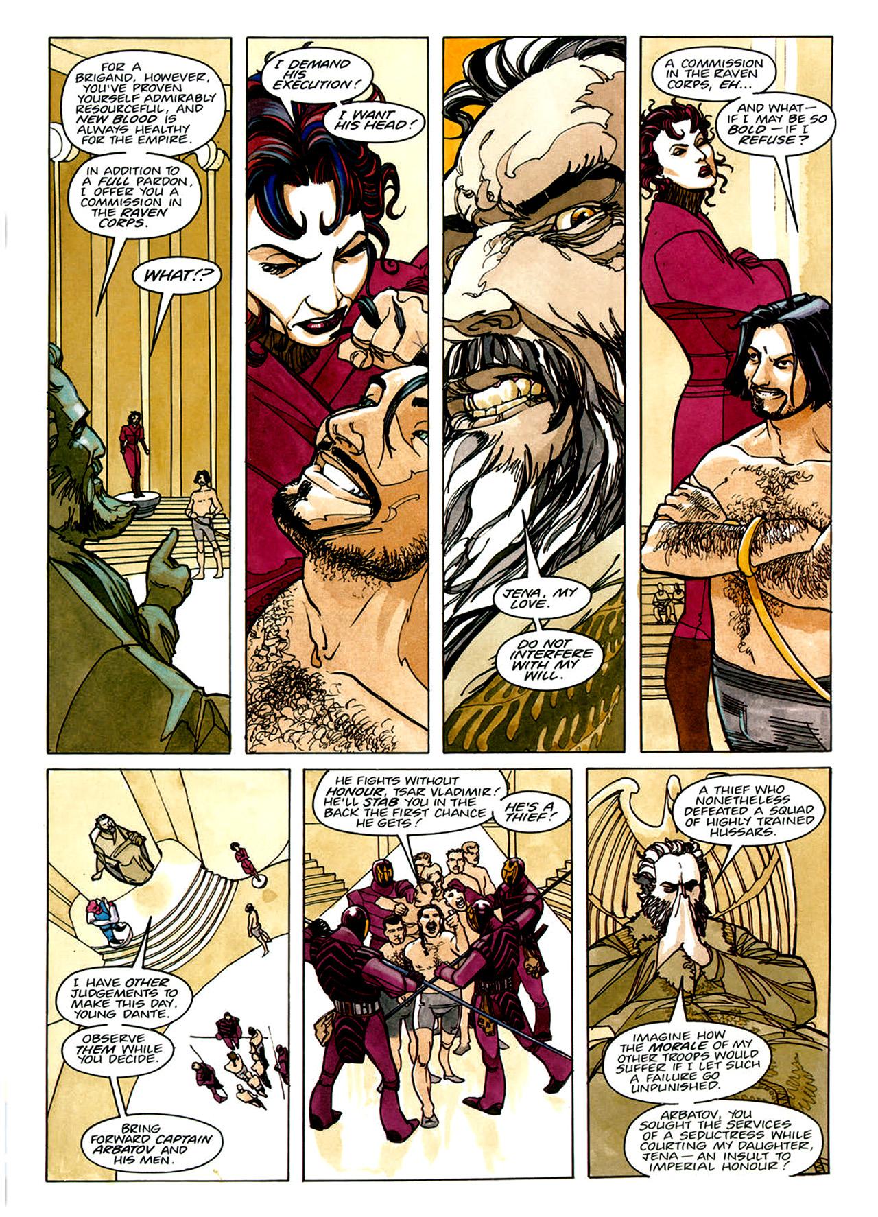 Read online Nikolai Dante comic -  Issue # TPB 1 - 15