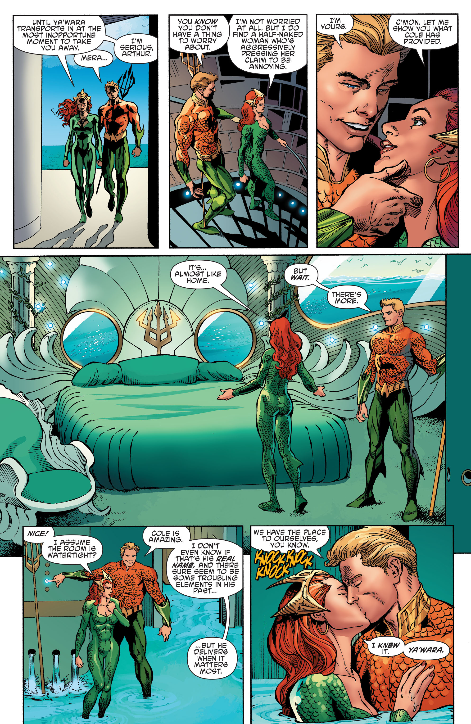 Read online Aquaman and the Others comic -  Issue #6 - 12
