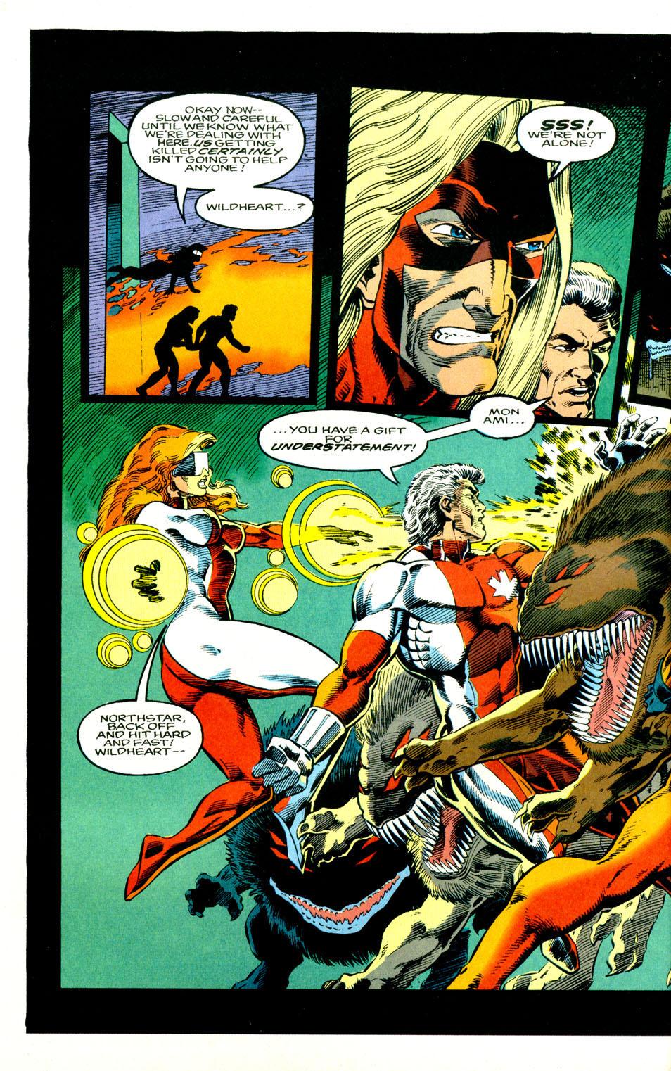 Read online Alpha Flight (1983) comic -  Issue #123 - 24