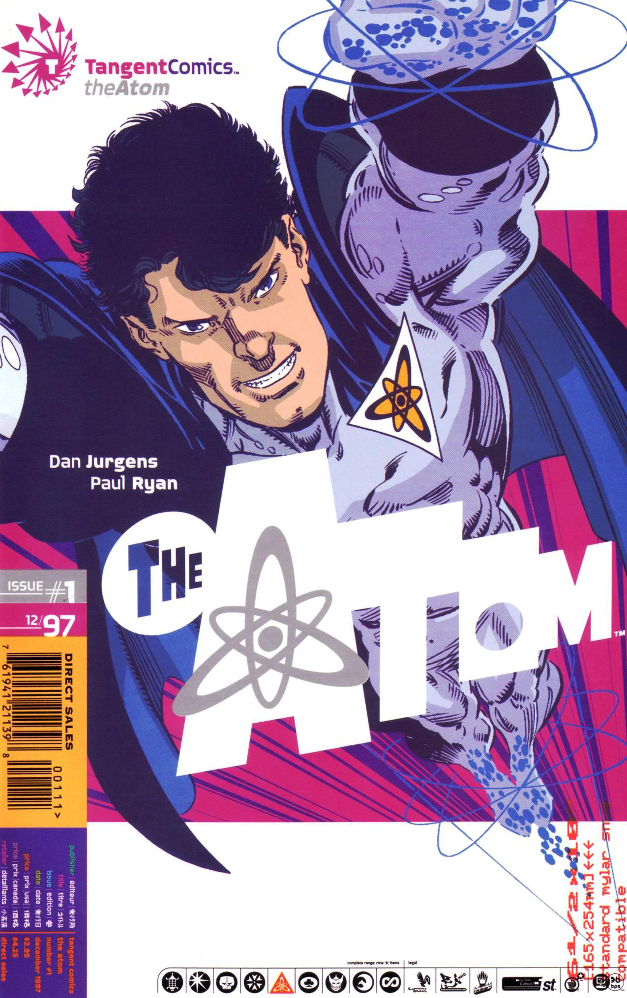 Read online Tangent Comics/ The Atom comic -  Issue # Full - 1