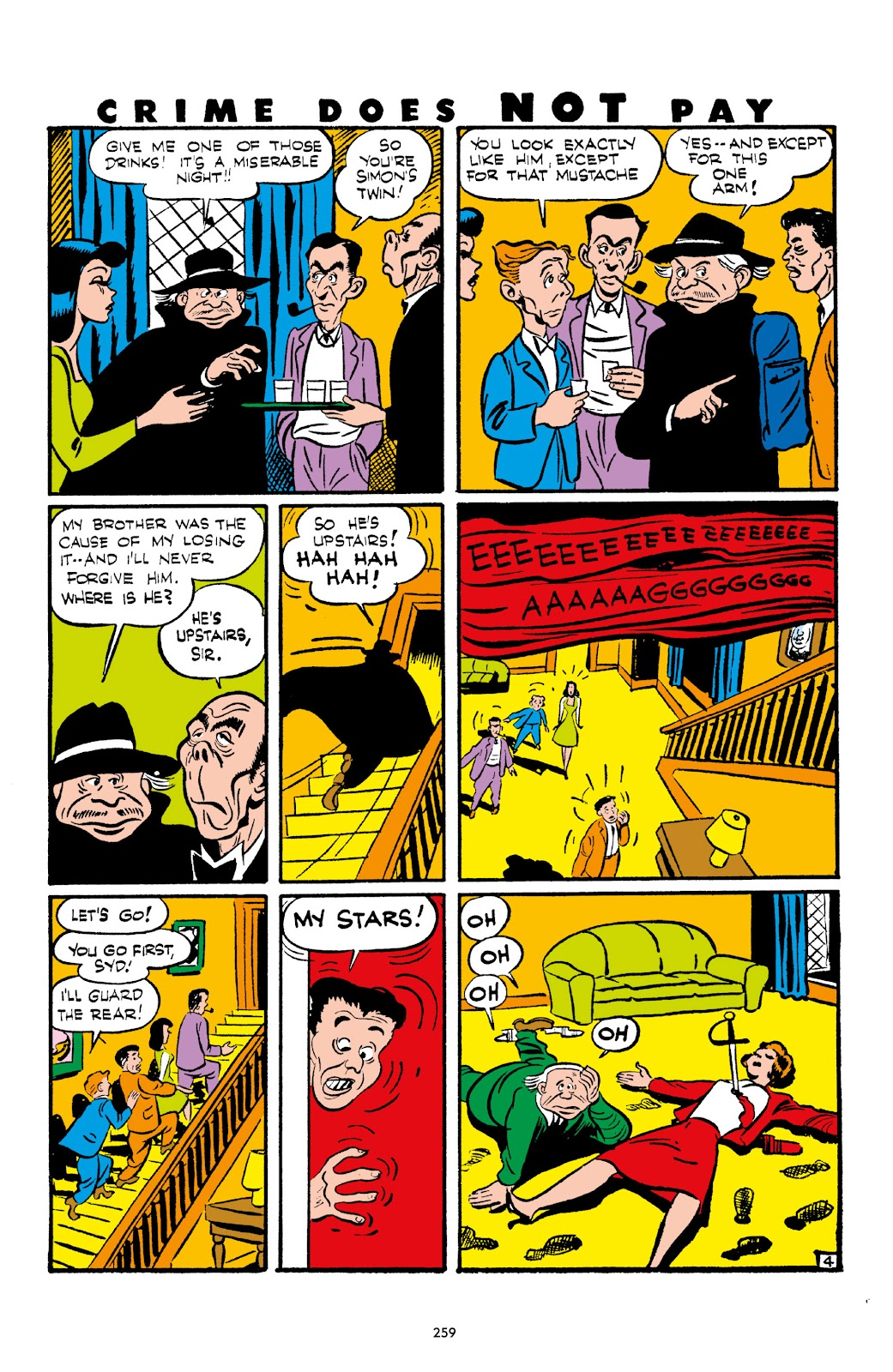 Read online Crime Does Not Pay Archives comic -  Issue # TPB 2 (Part 3) - 59