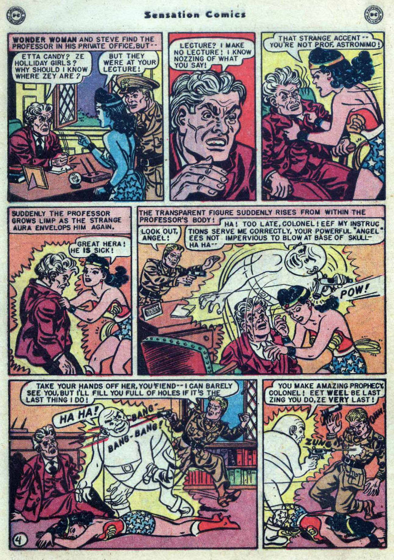 Read online Sensation (Mystery) Comics comic -  Issue #82 - 6