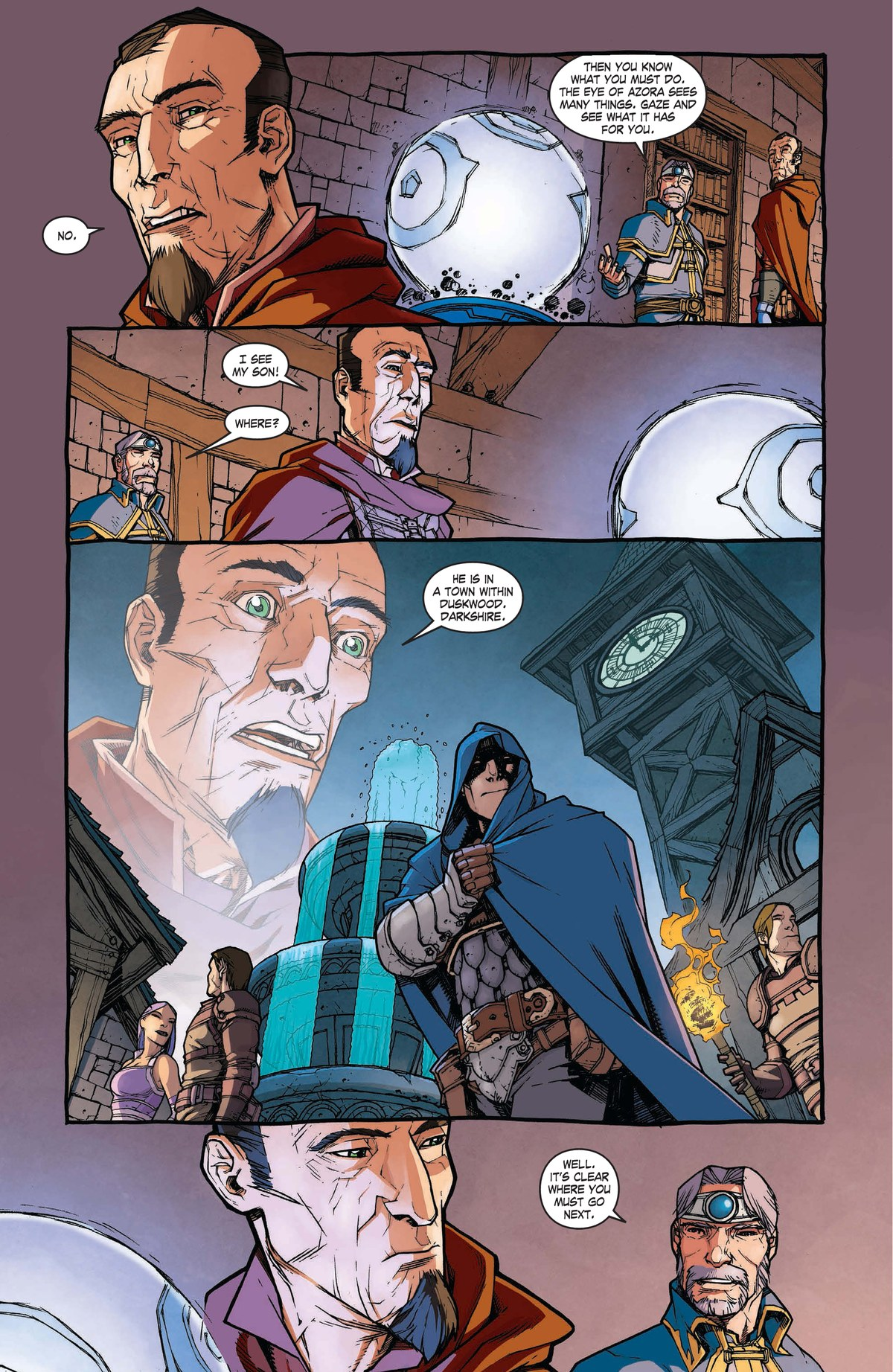 Read online World of Warcraft: Dark Riders comic -  Issue # Full - 38