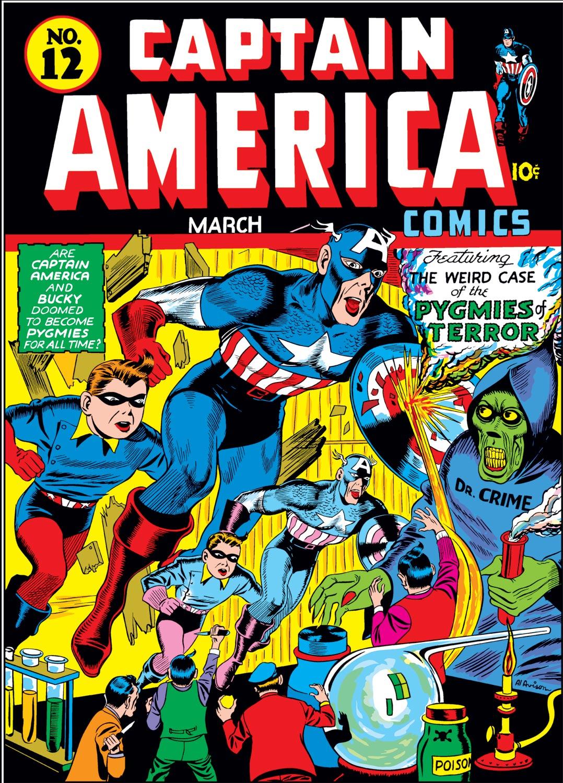 Captain America Comics 12 Page 1