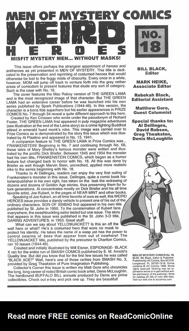 Read online Men of Mystery Comics comic -  Issue #18 - 3