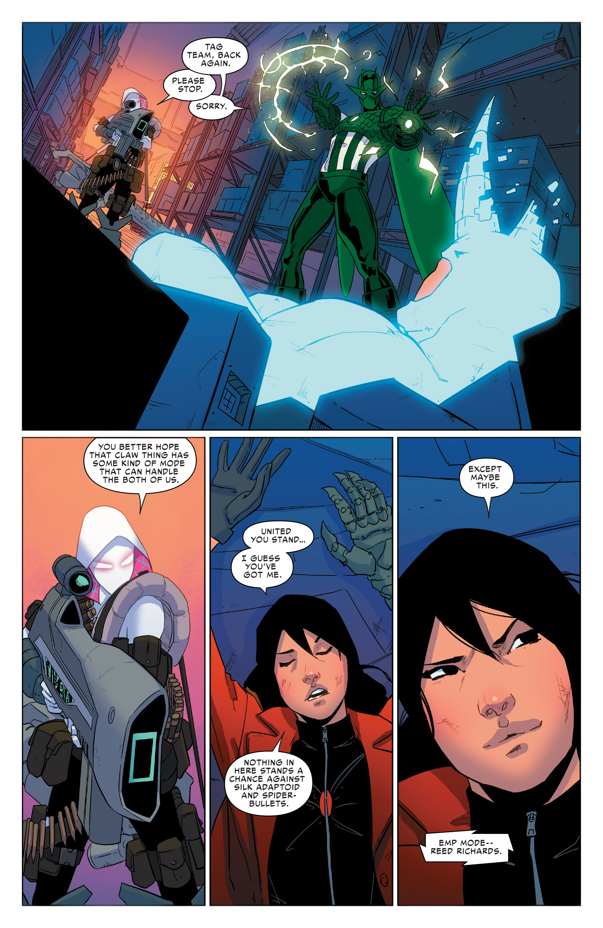 Read online Spider-Women Omega comic -  Issue # Full - 21