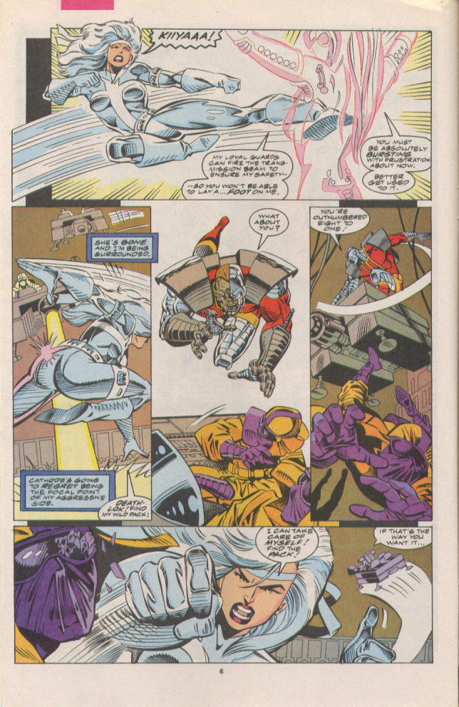 Read online Silver Sable and the Wild Pack comic -  Issue #7 - 7