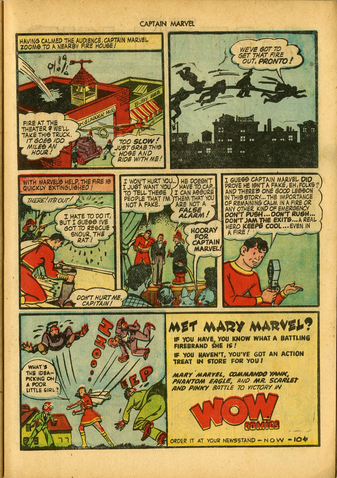 Captain Marvel Adventures issue 34 - Page 47