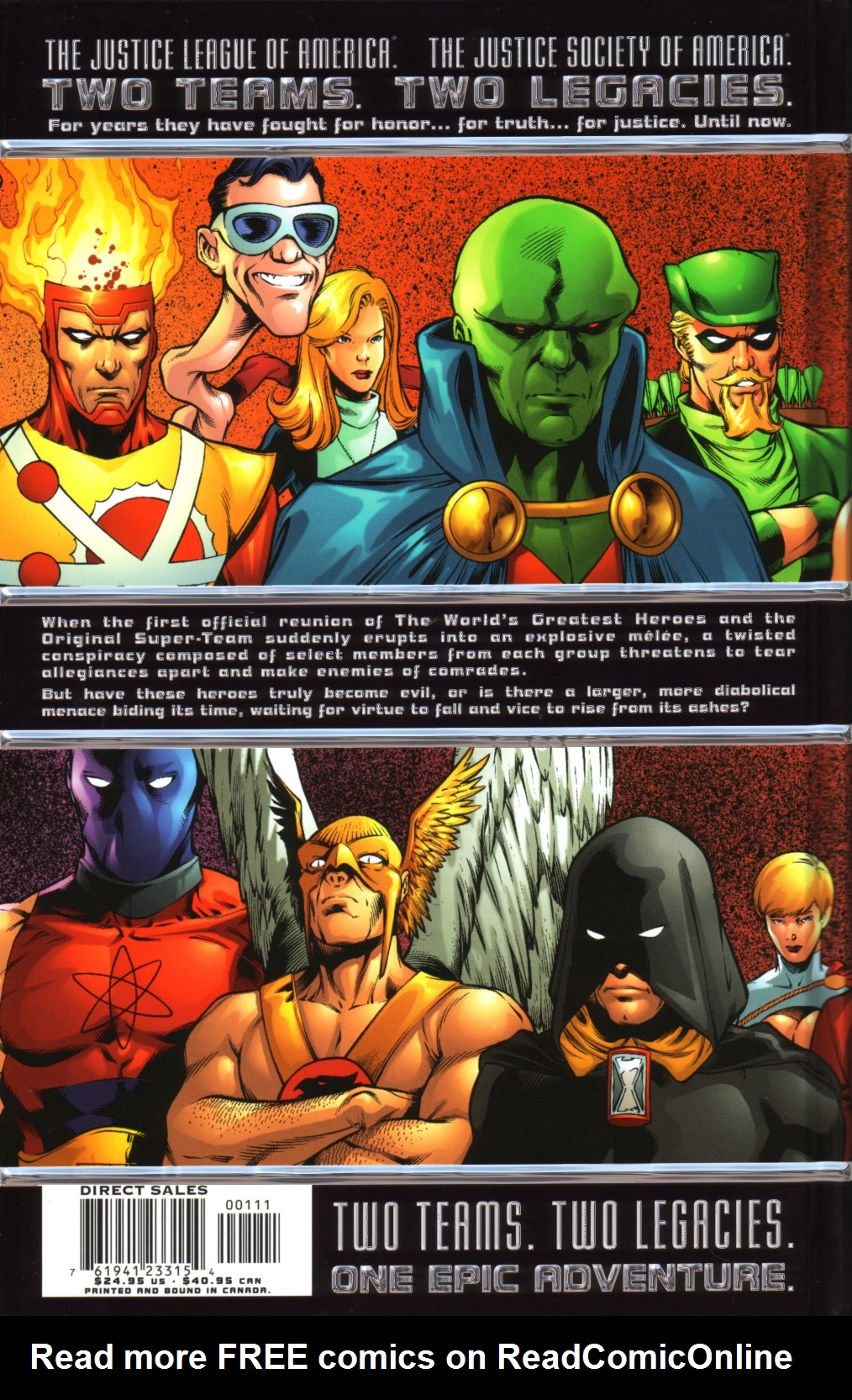 Read online JLA/JSA: Virtue and Vice comic -  Issue # TPB - 97