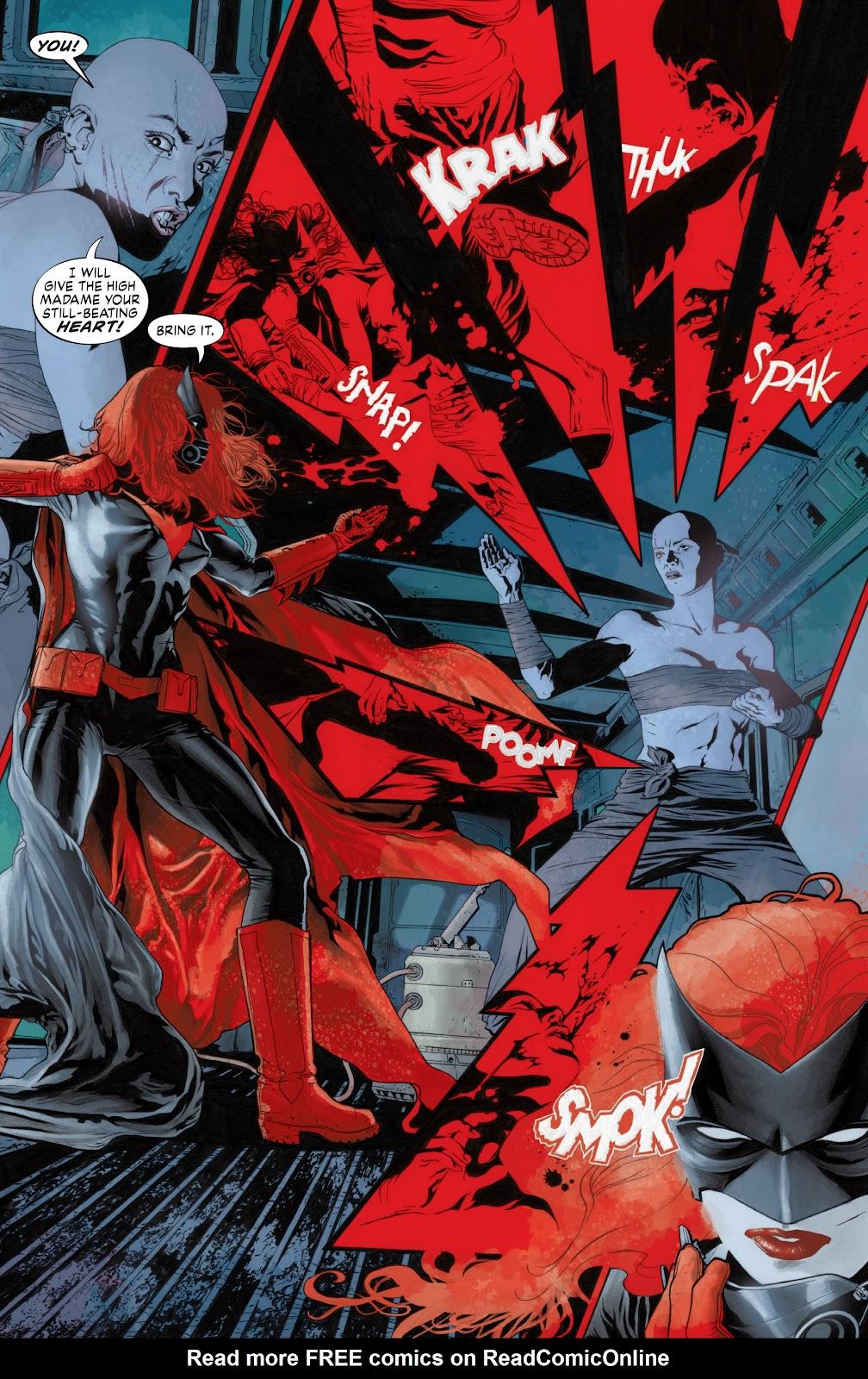 Read online Detective Comics (1937) comic -  Issue # _TPB Batwoman - Elegy (Part 1) - 75