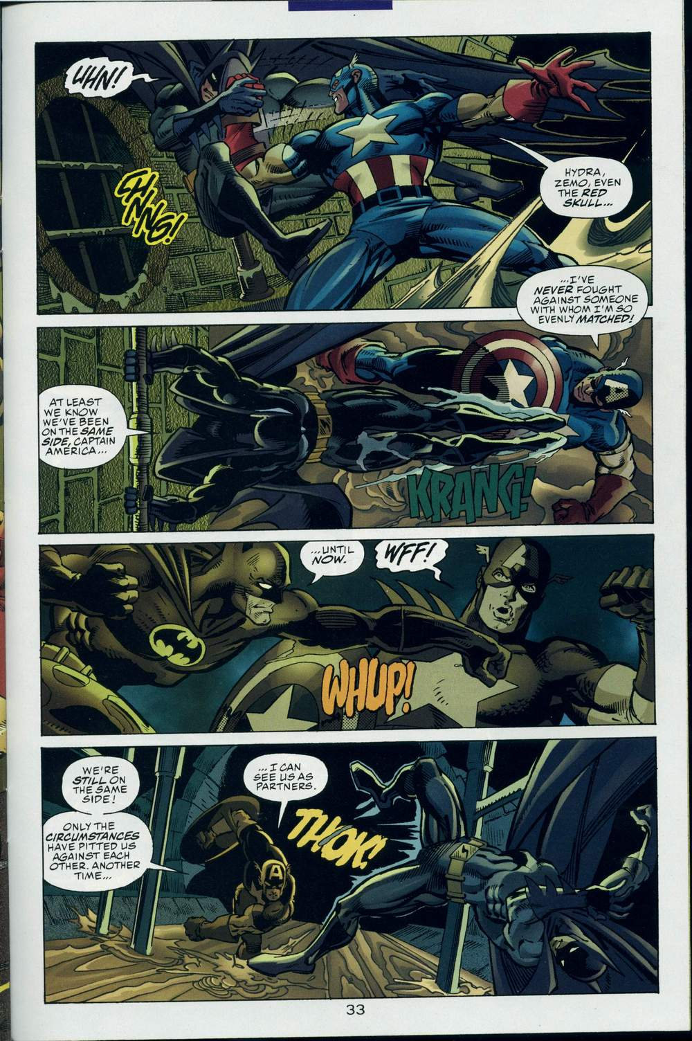 Read online DC Versus Marvel Comics comic -  Issue #3 - 34