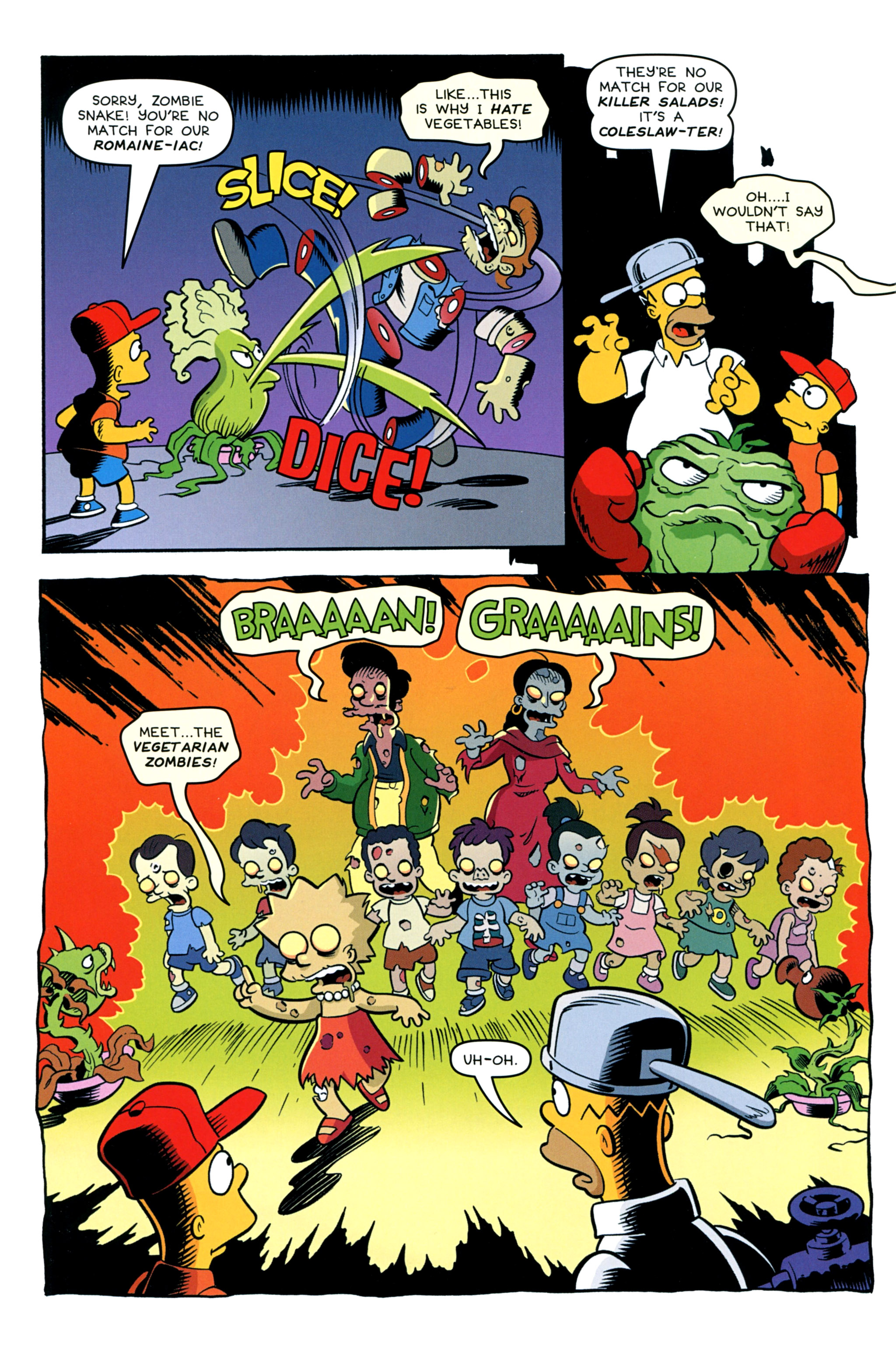 Read online Treehouse of Horror comic -  Issue #20 - 44