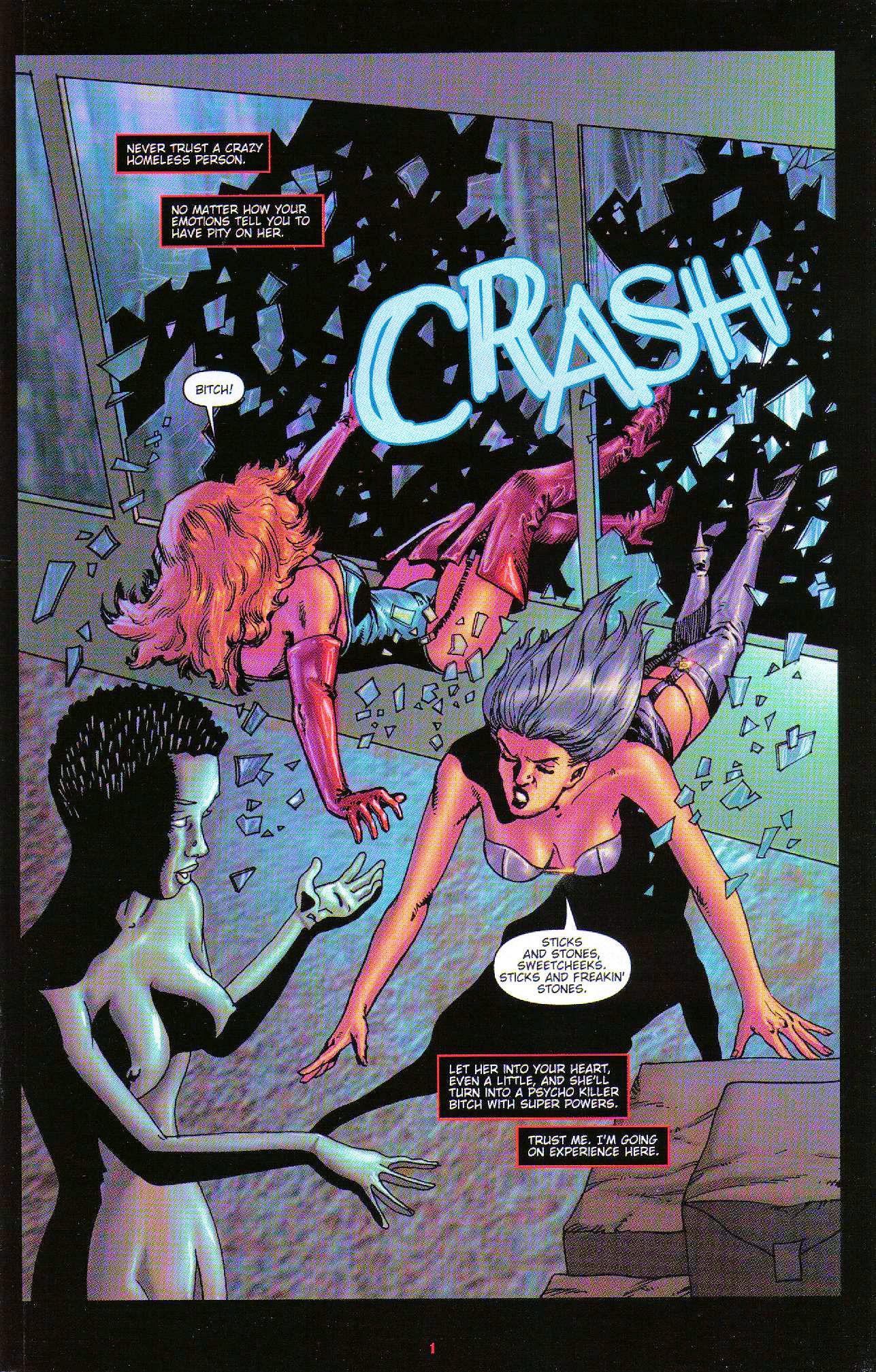 Read online Dominatrix comic -  Issue #6 - 3