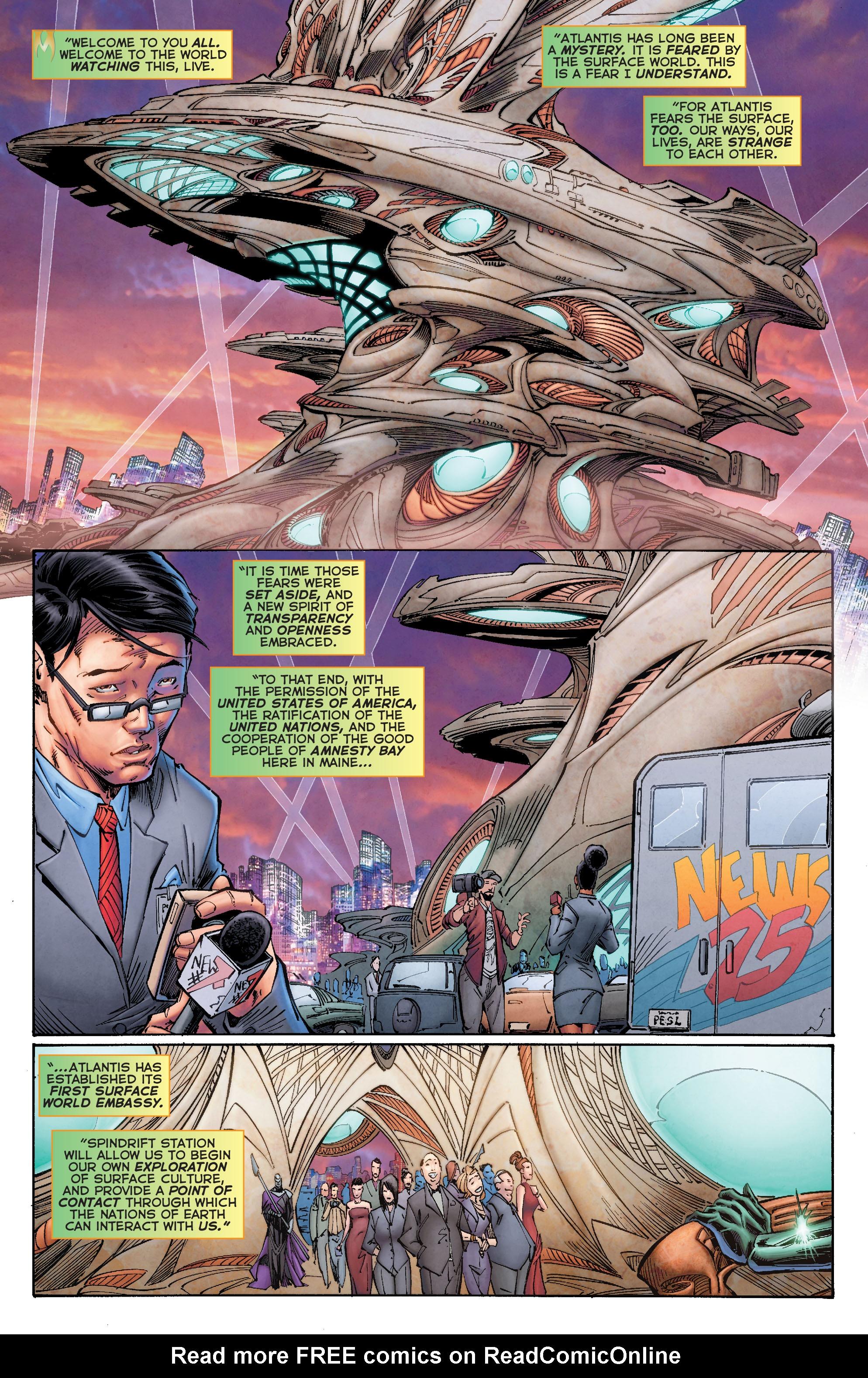 Read online Aquaman (2011) comic -  Issue #50 - 38