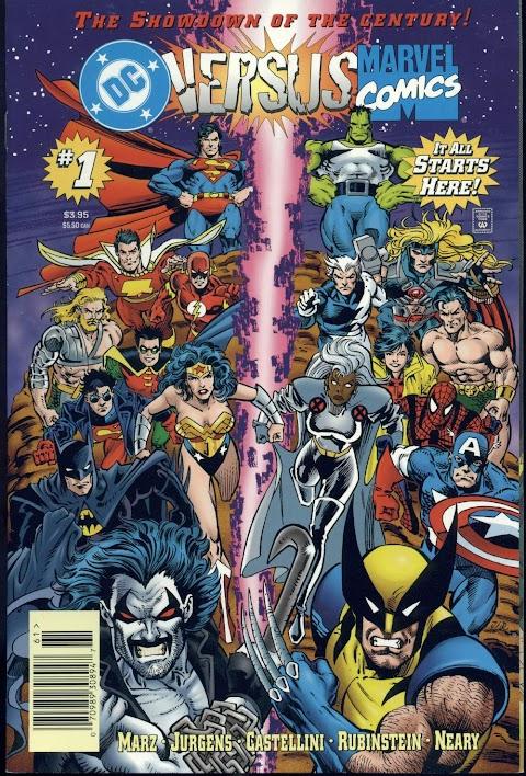 Dc Vs Marvel Comic Free Online