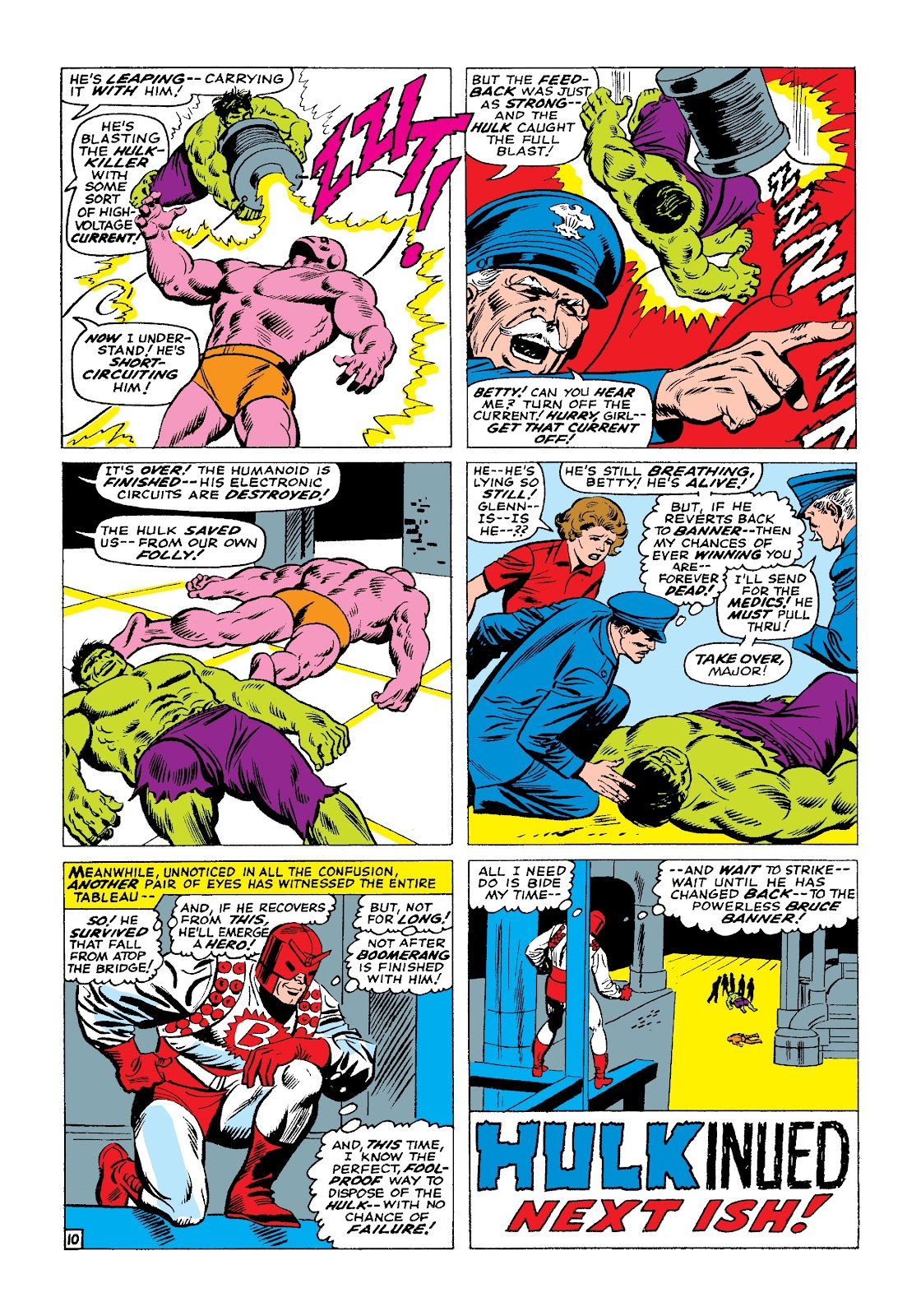 Read online Marvel Masterworks: The Incredible Hulk comic -  Issue # TPB 3 (Part 1) - 94