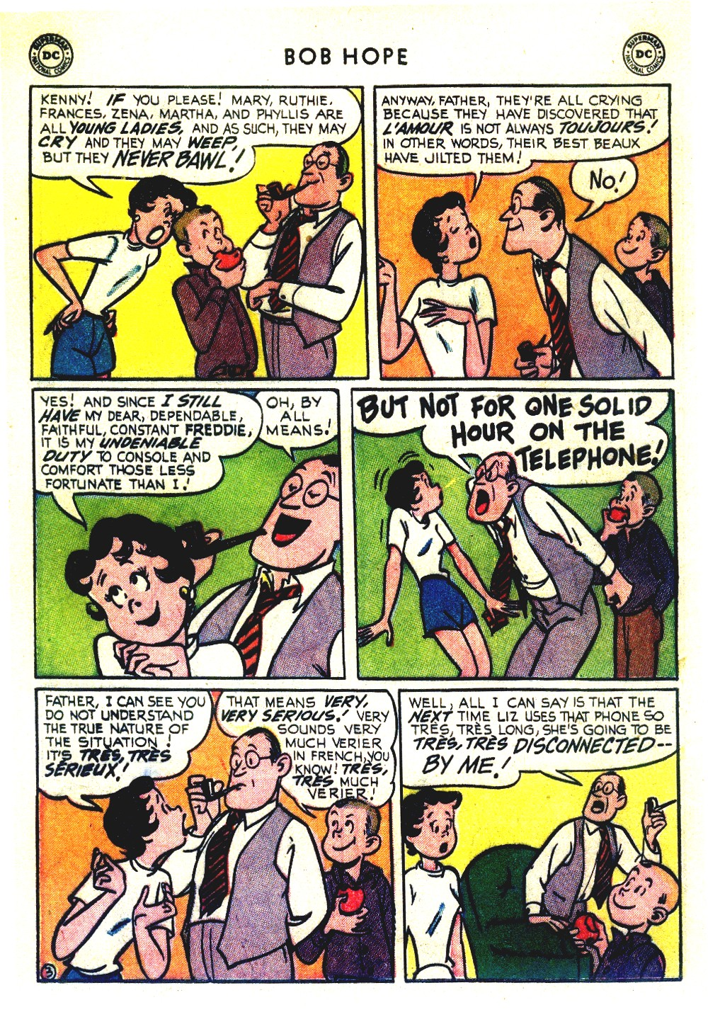 The Adventures of Bob Hope issue 27 - Page 38