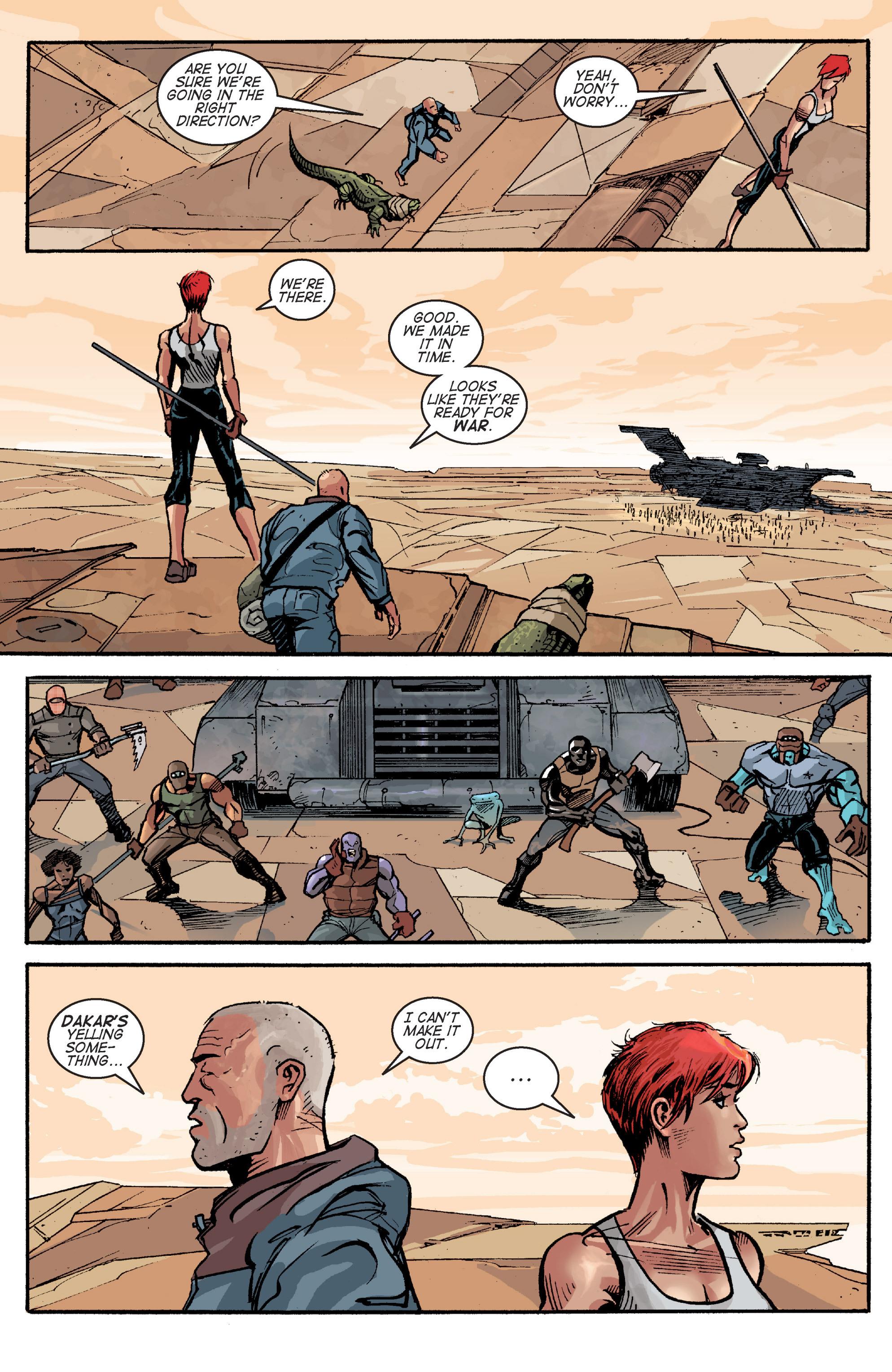 Read online Planetoid comic -  Issue # TPB - 140