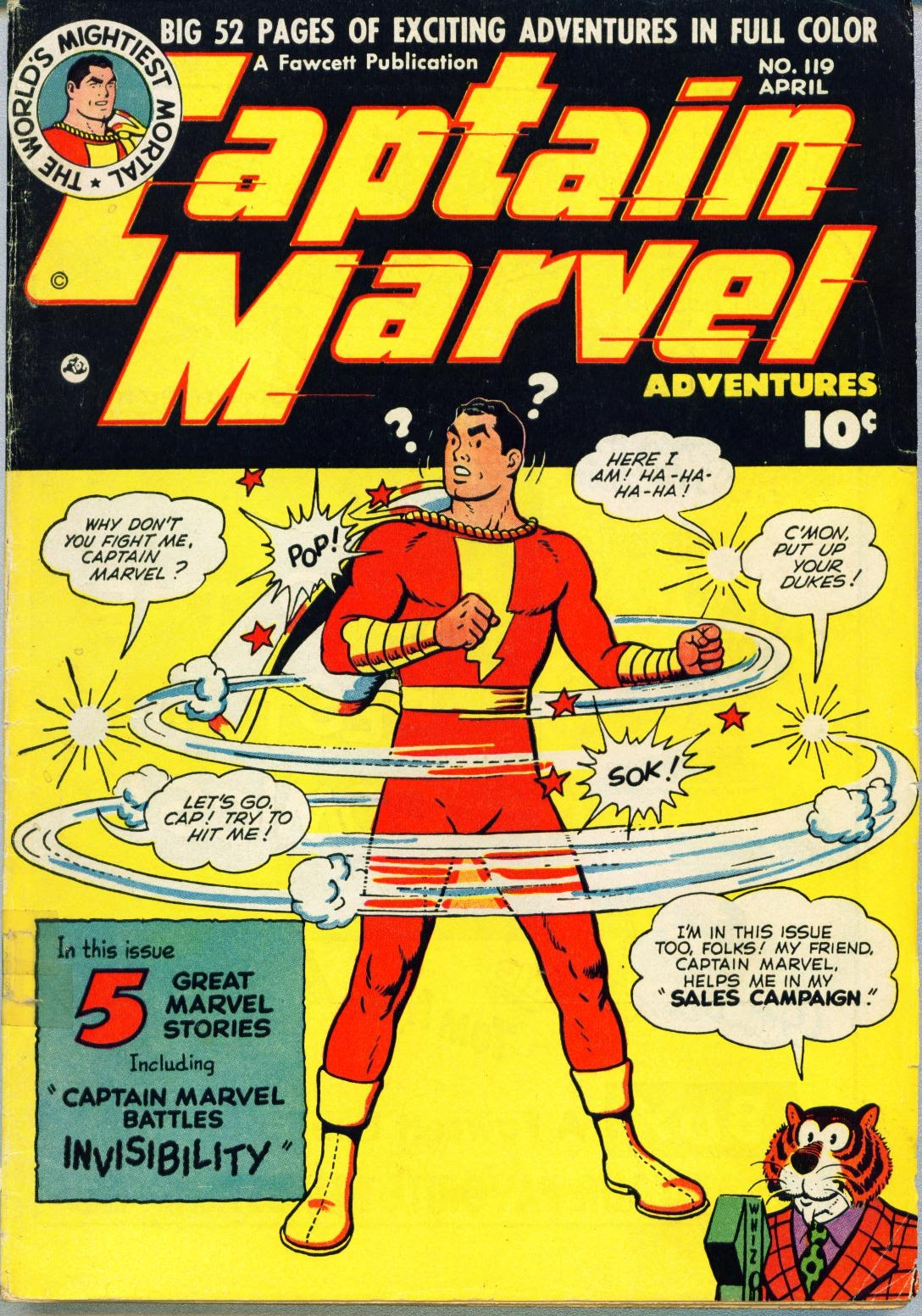 Captain Marvel Adventures issue 119 - Page 1