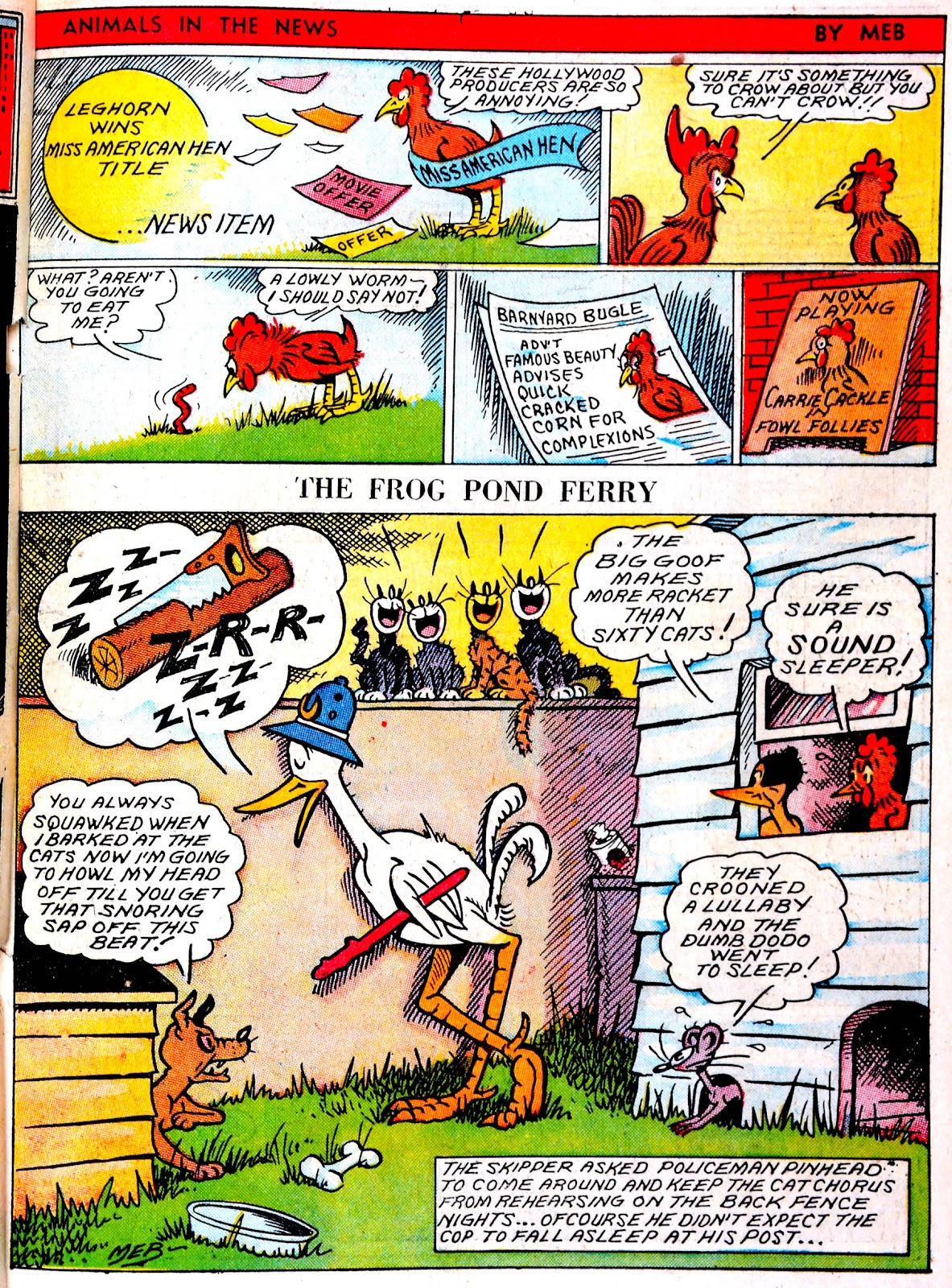 Read online Famous Funnies comic -  Issue #43 - 37