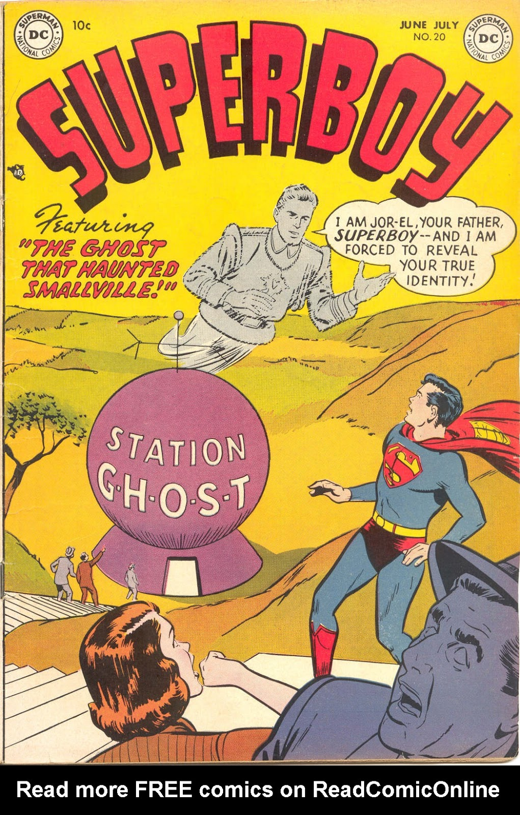 Superboy (1949) issue 20 - Page 1