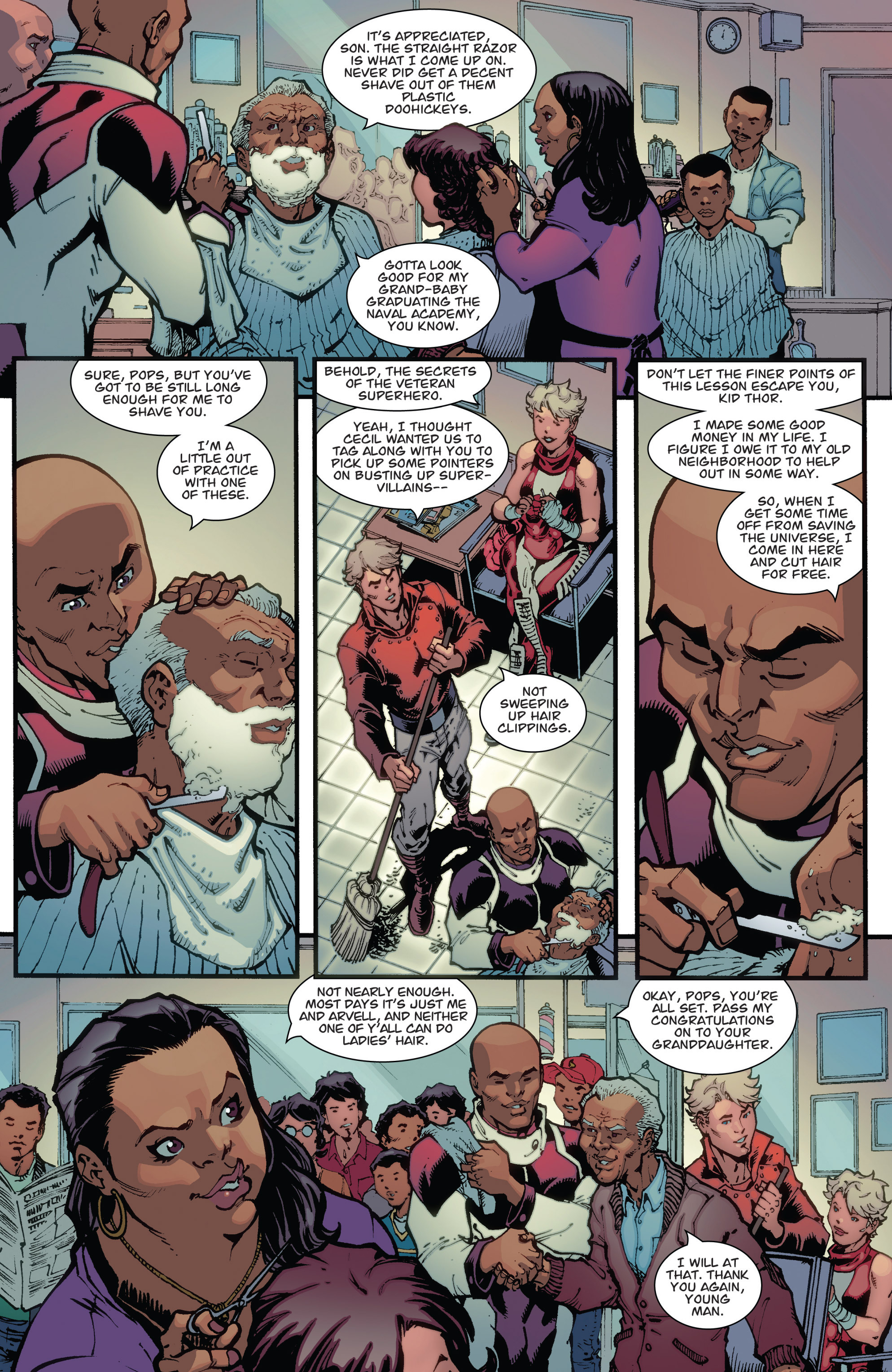 Read online Guarding the Globe (2012) comic -  Issue #3 - 4