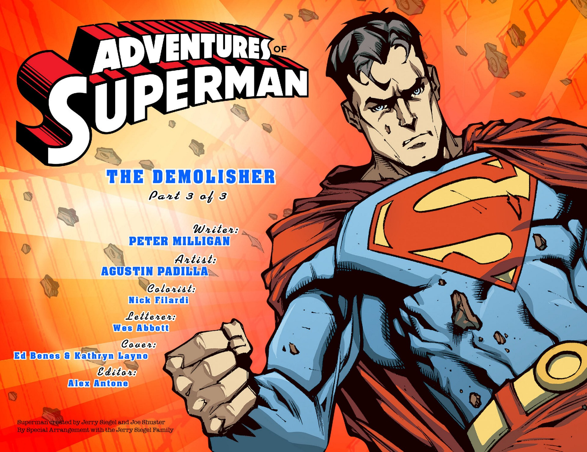 Read online Adventures of Superman [I] comic -  Issue #36 - 2