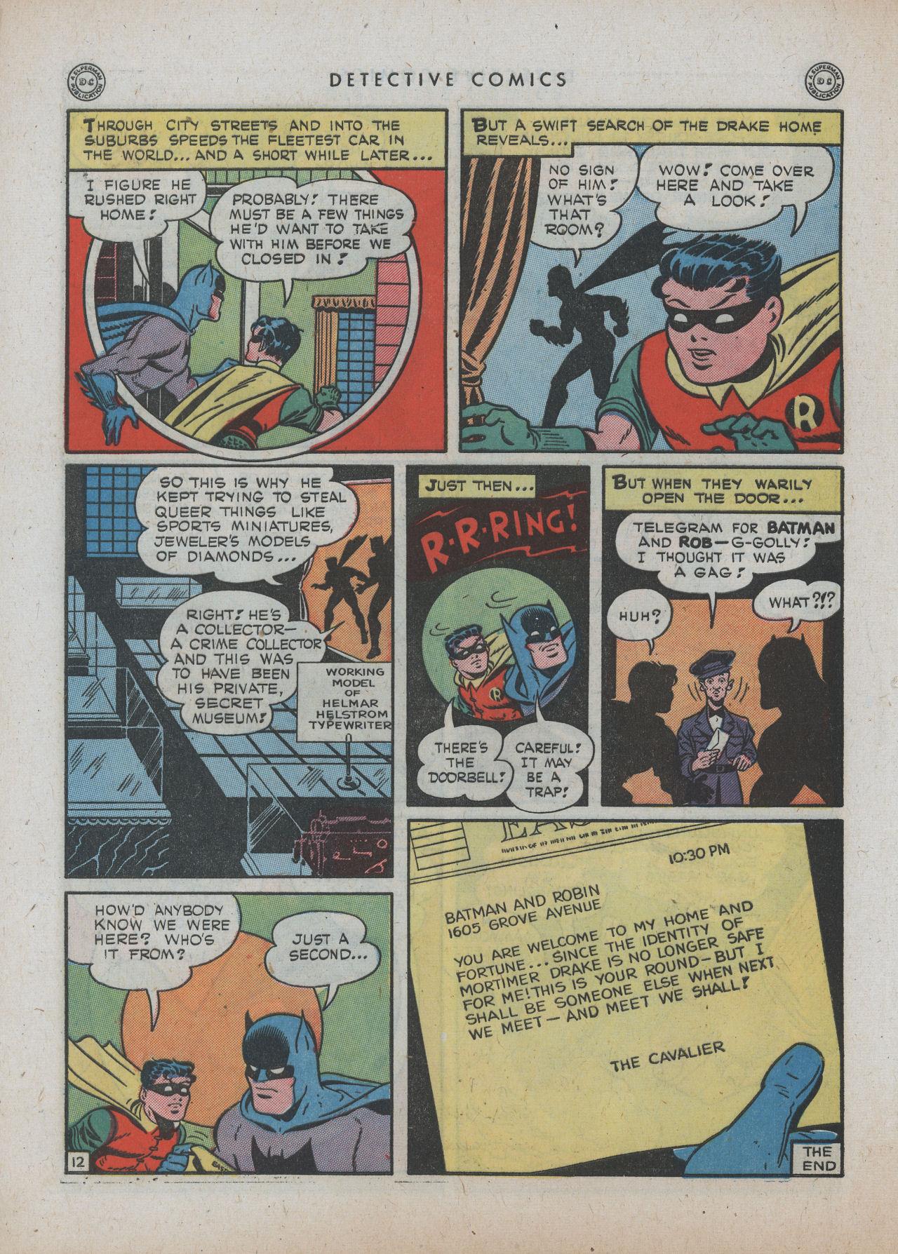 Read online Detective Comics (1937) comic -  Issue #89 - 14