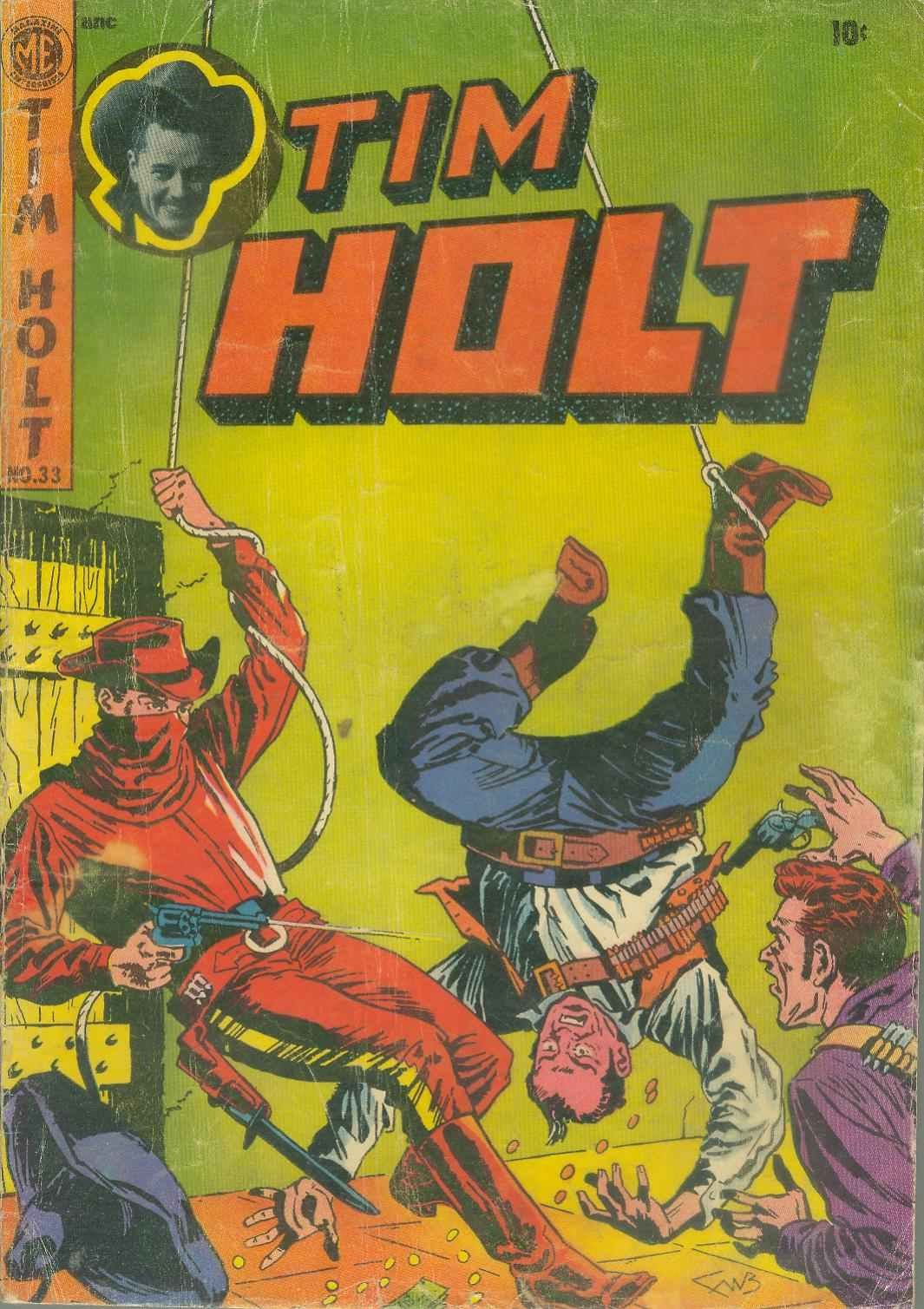 Tim Holt 33 Page 1