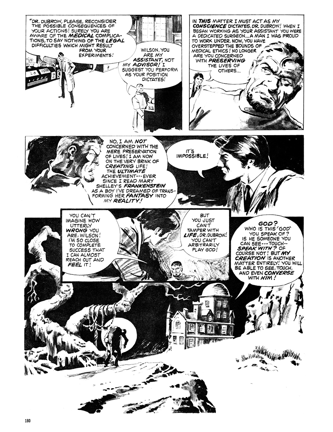 Read online Eerie Archives comic -  Issue # TPB 6 - 180