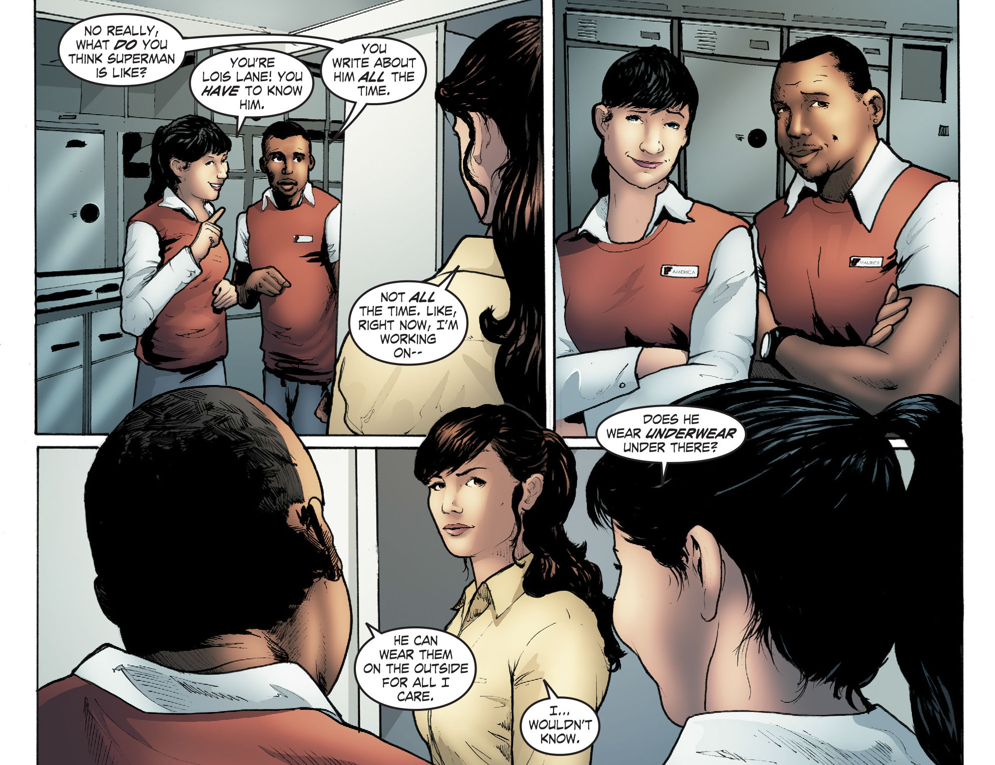 Read online Smallville: Season 11 comic -  Issue #41 - 7