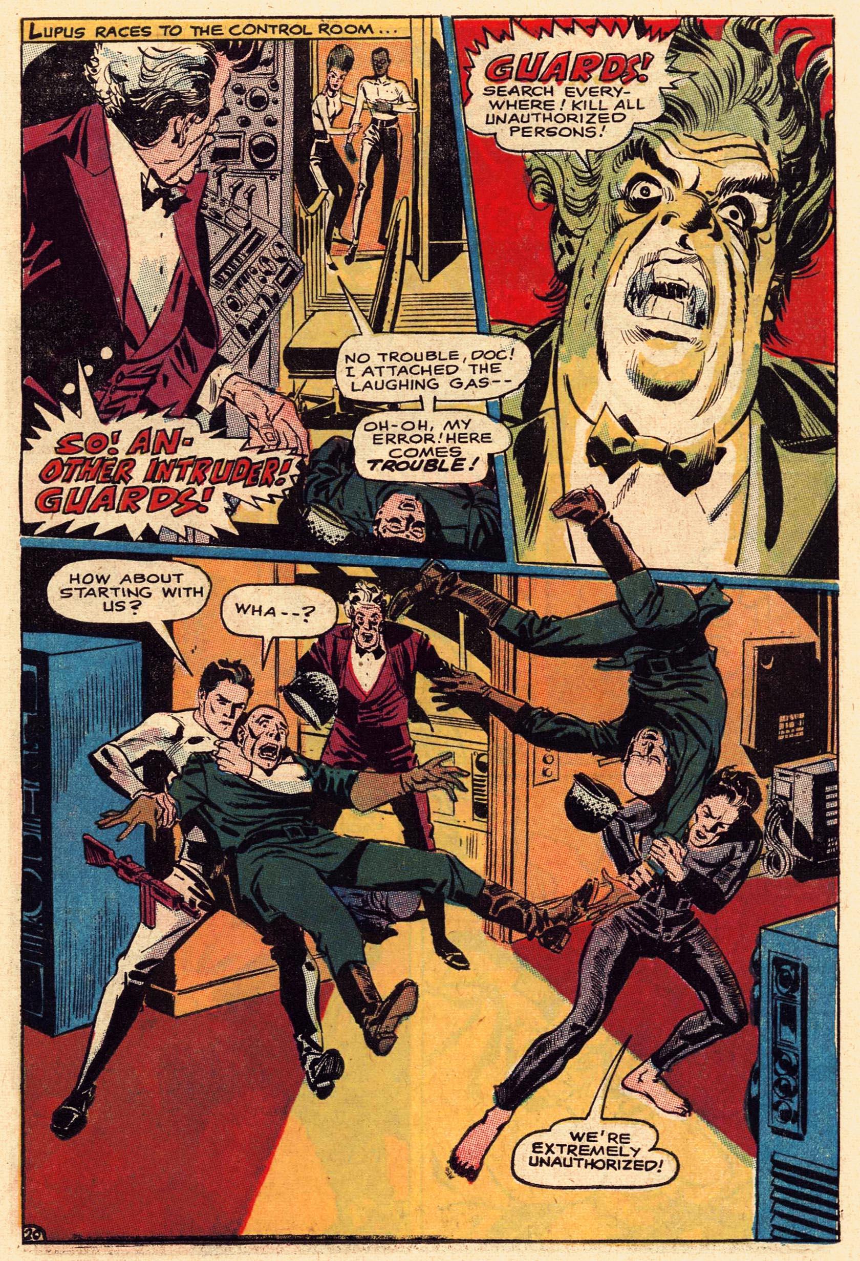 Read online Secret Six (1968) comic -  Issue #1 - 27