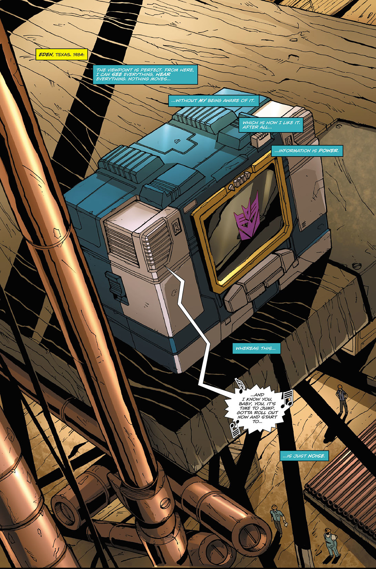 Read online Transformers Spotlight: Soundwave comic -  Issue # Full - 3