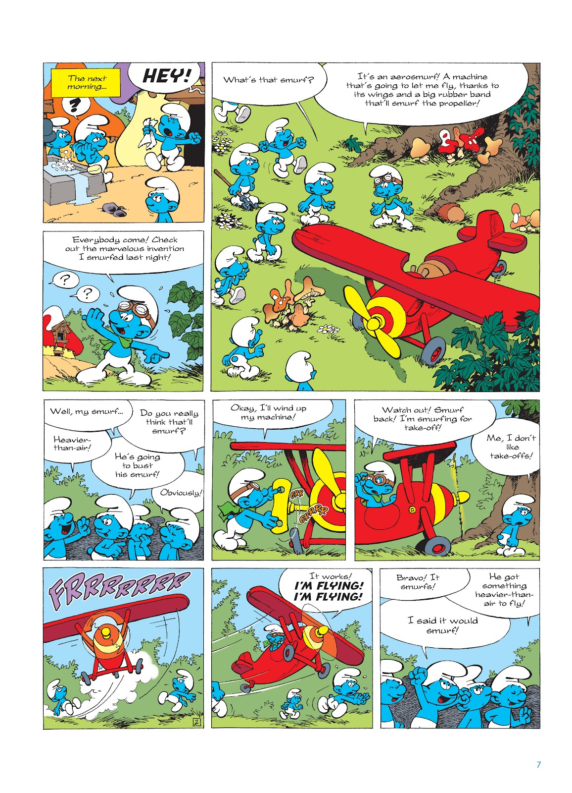Read online The Smurfs comic -  Issue #16 - 8