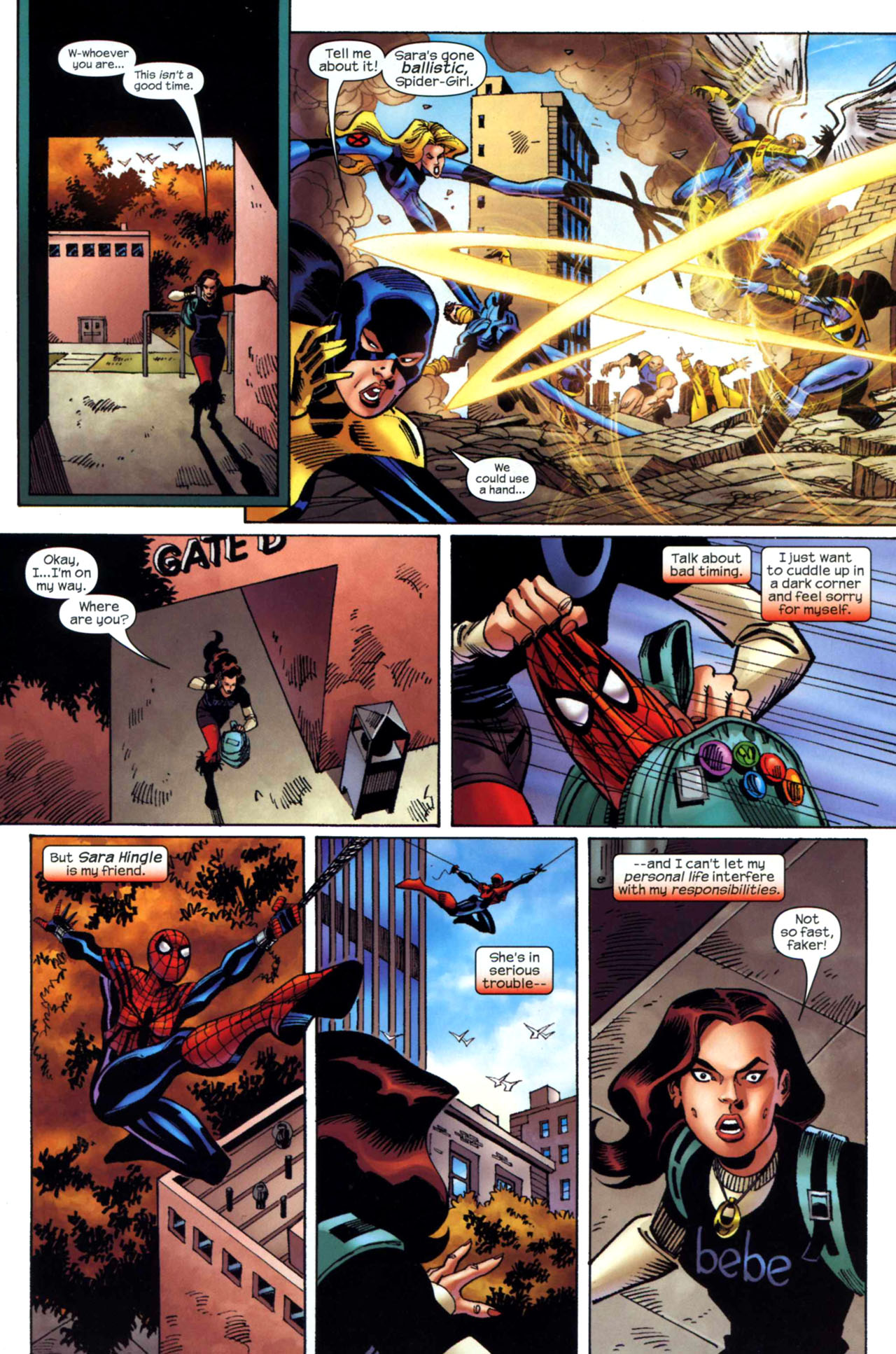 Read online Amazing Spider-Girl comic -  Issue #24 - 15