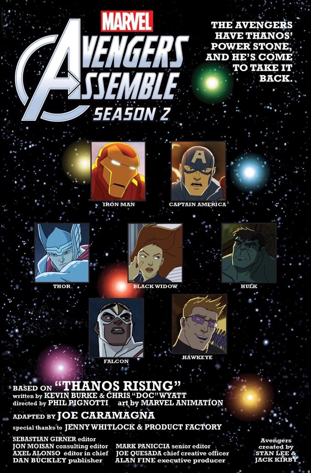 Read online Marvel Universe Avengers Assemble Season 2 comic -  Issue #2 - 3