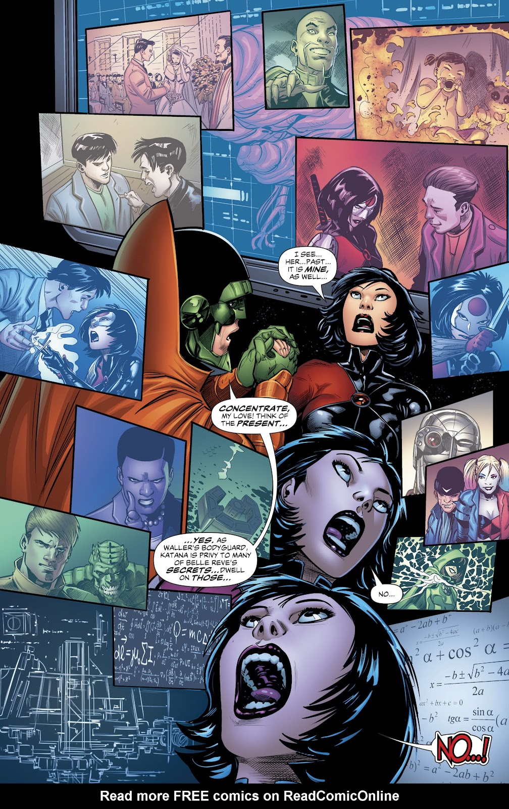 Read online Suicide Squad Black Files comic -  Issue #4 - 19