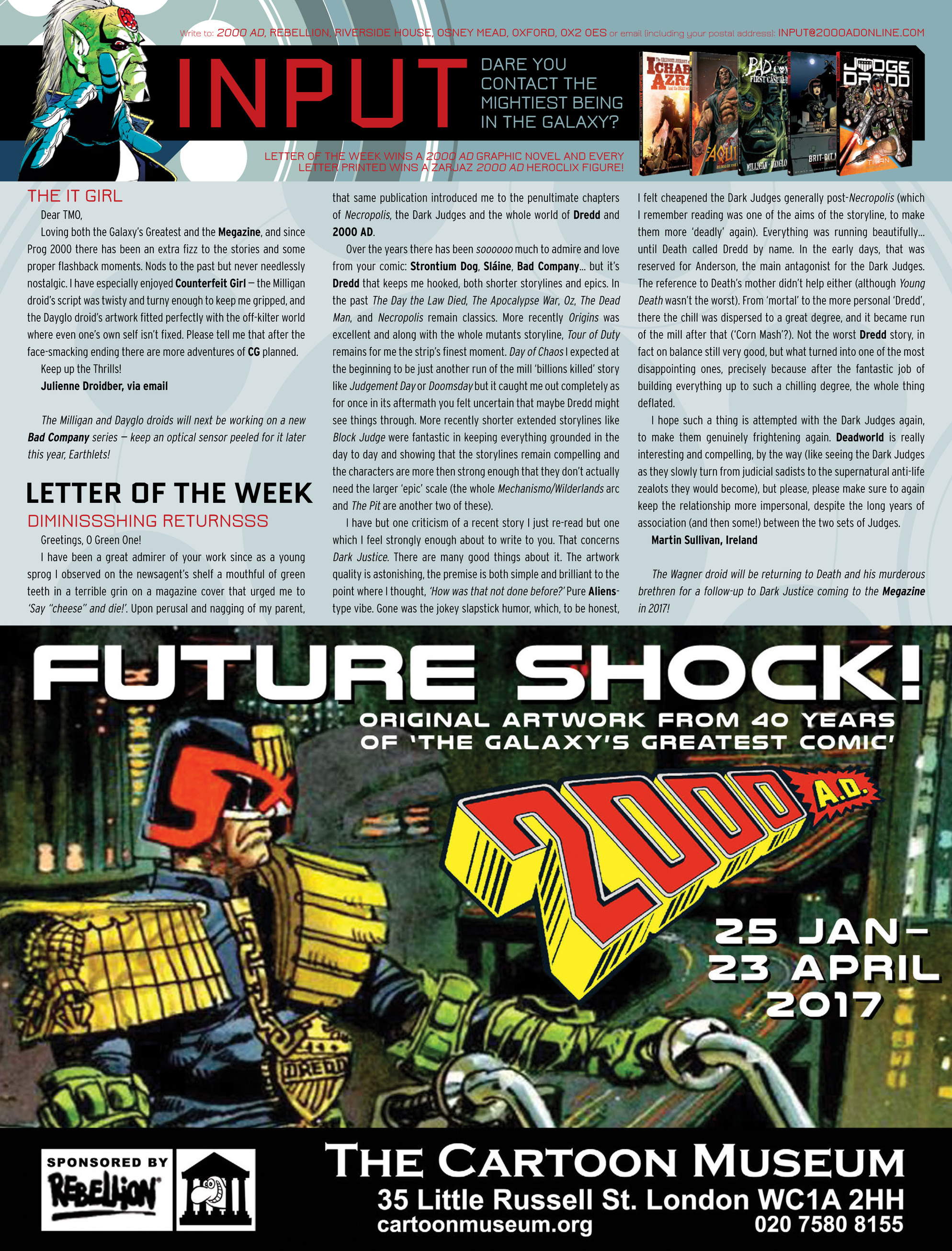 Read online 2000 AD comic -  Issue #2014 - 31