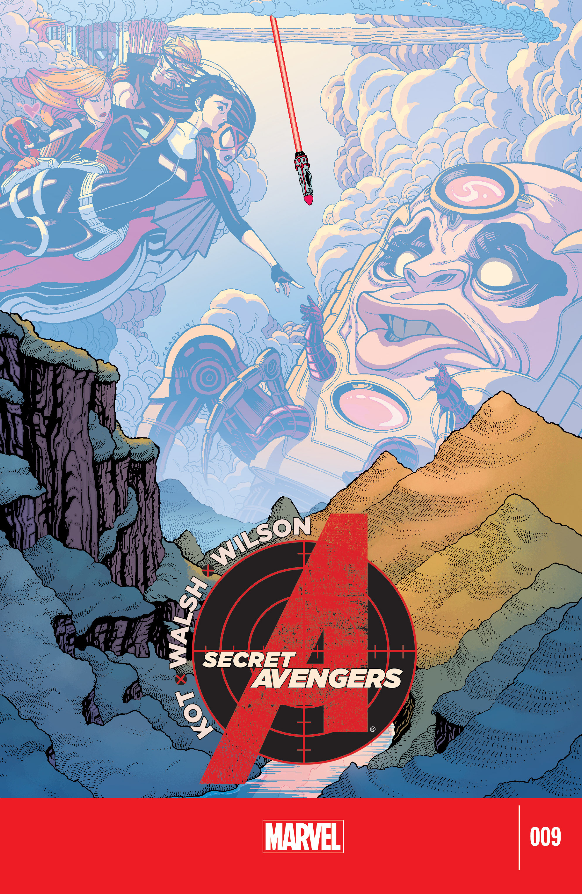 Read online Secret Avengers (2014) comic -  Issue #9 - 1