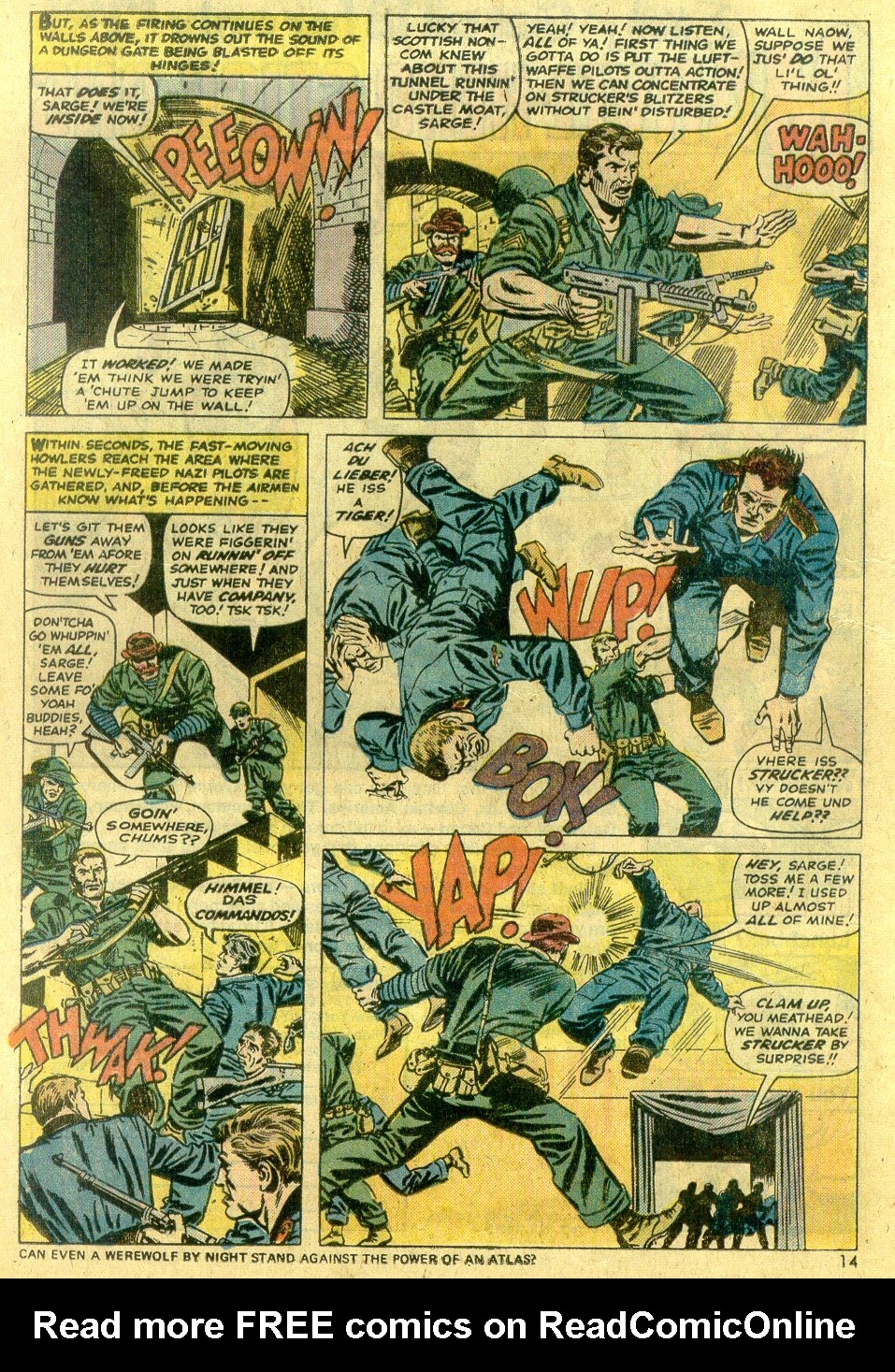 Read online Sgt. Fury comic -  Issue #122 - 16