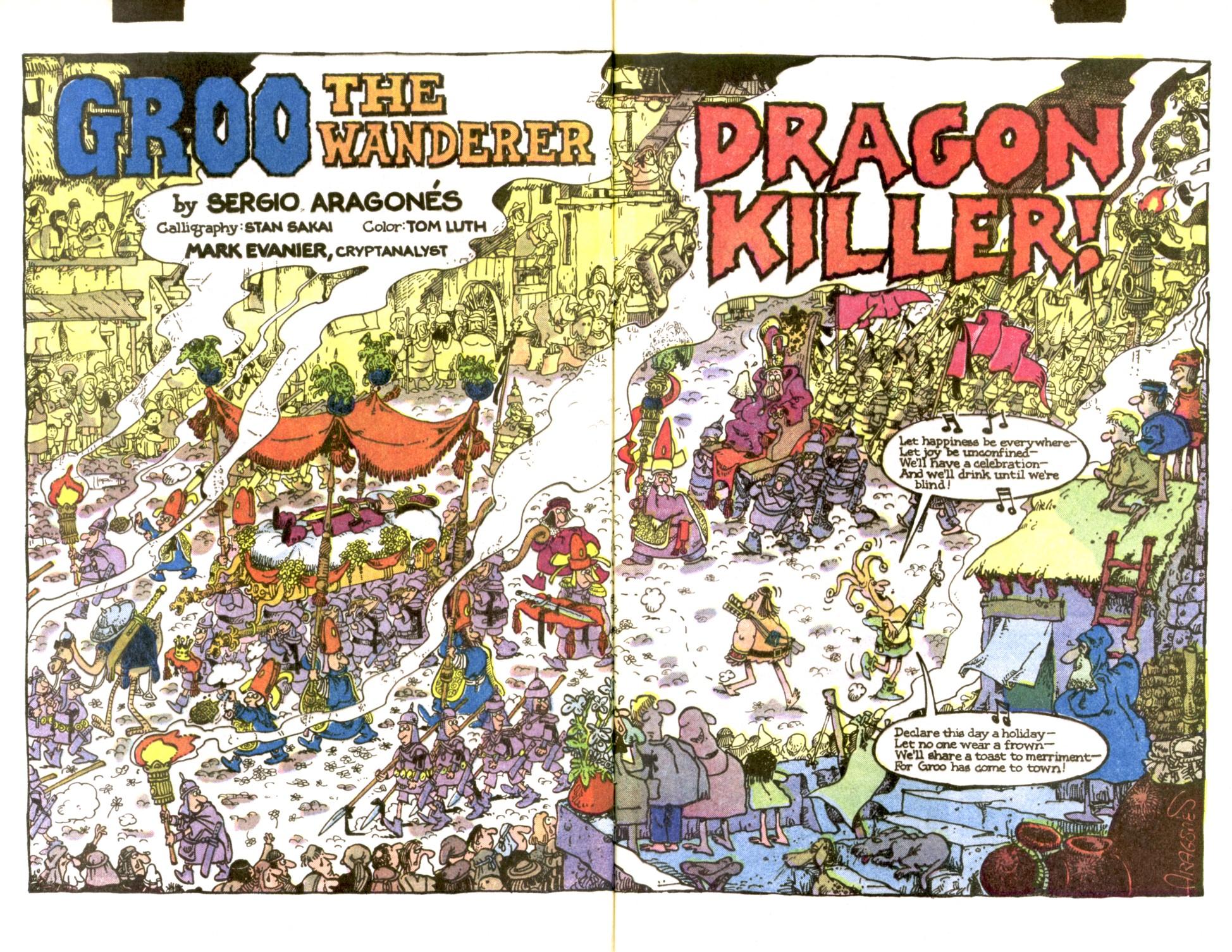 Read online Sergio Aragonés Groo the Wanderer comic -  Issue #2 - 3