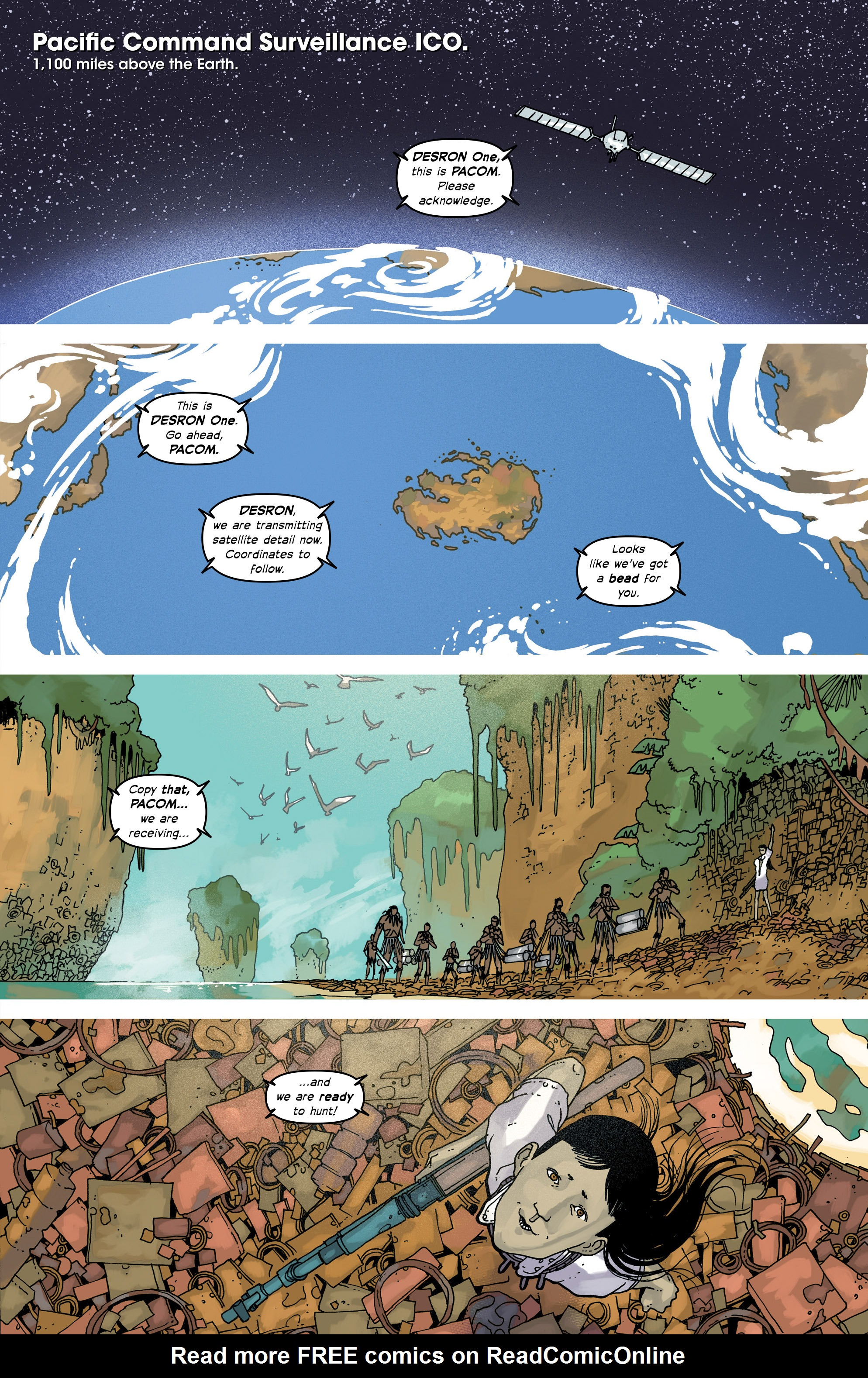 Read online Great Pacific comic -  Issue #17 - 17