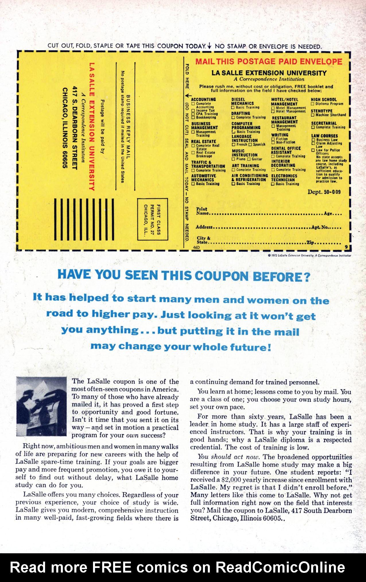 Read online Amazing Adventures (1970) comic -  Issue #23 - 35