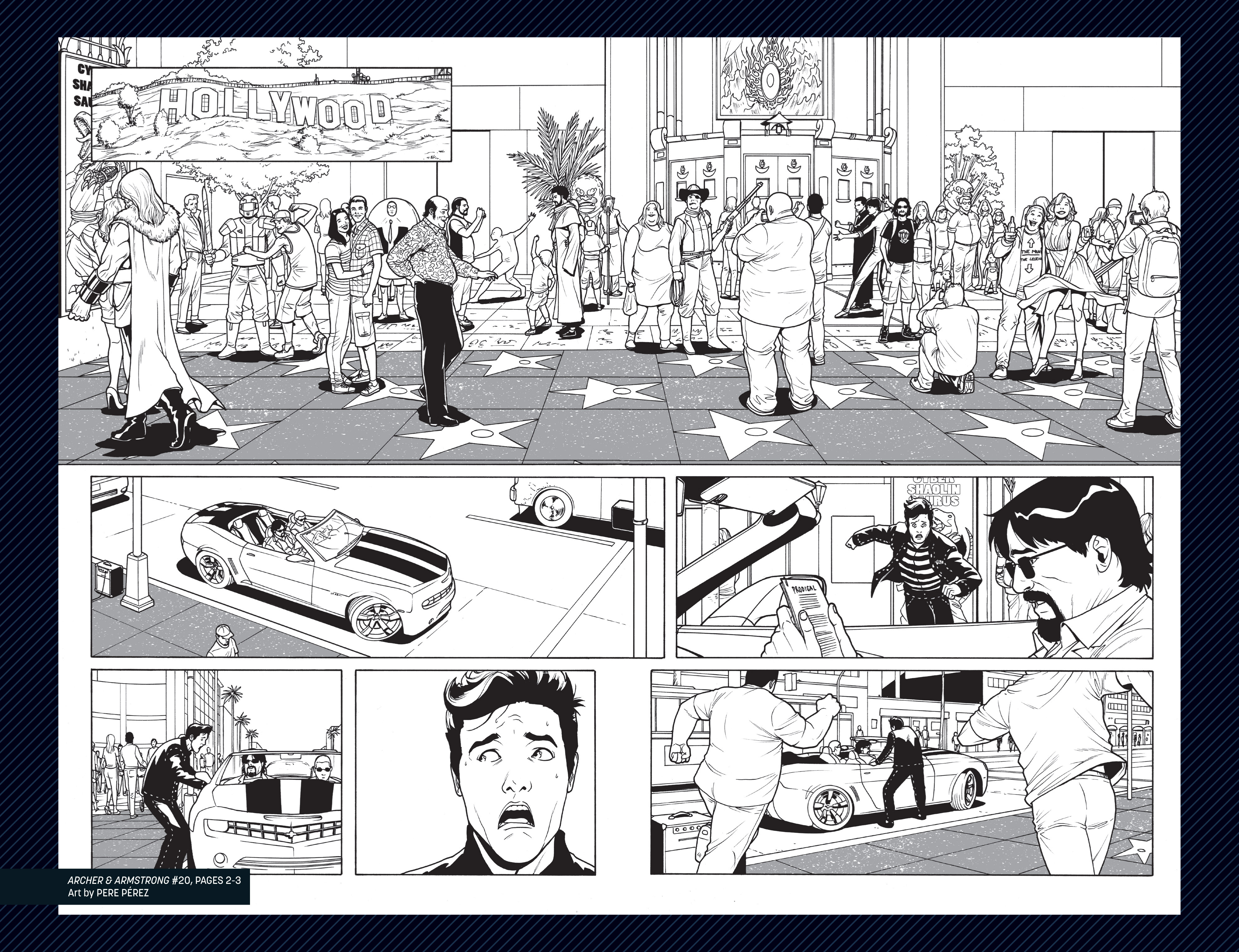 Read online Archer and Armstrong comic -  Issue #Archer and Armstrong _TPB 6 - 112