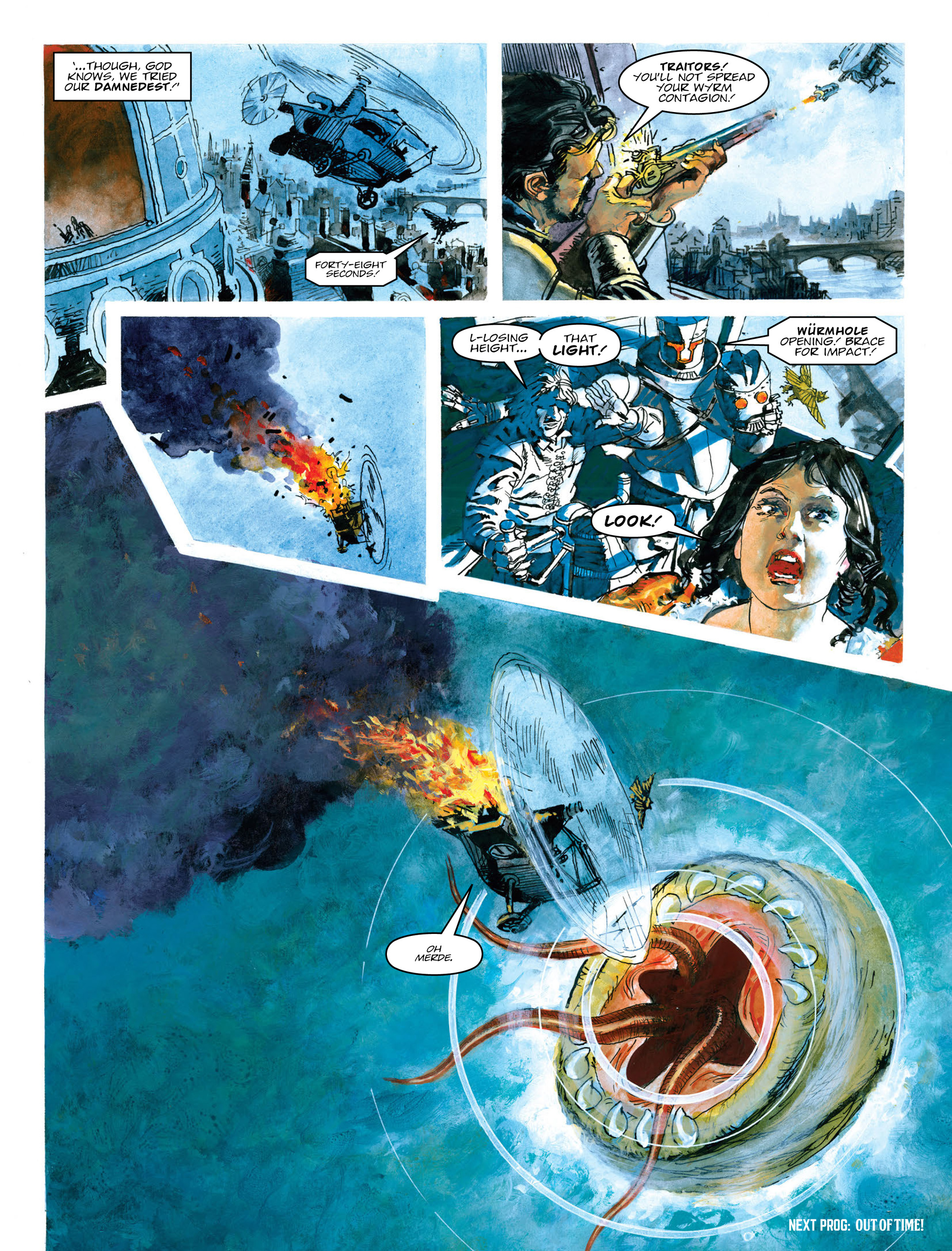 Read online 2000 AD comic -  Issue #2014 - 24