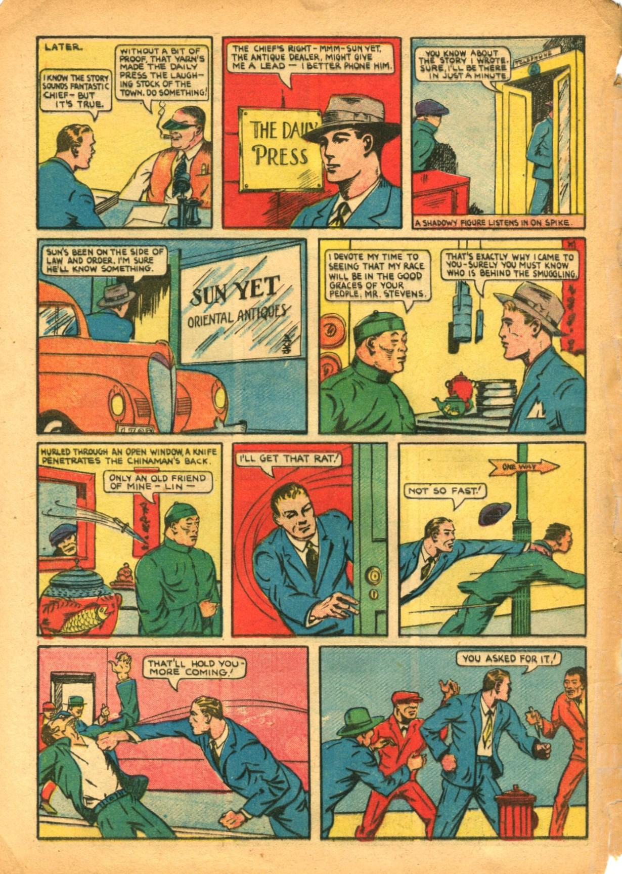Read online Shadow Comics comic -  Issue #12 - 62