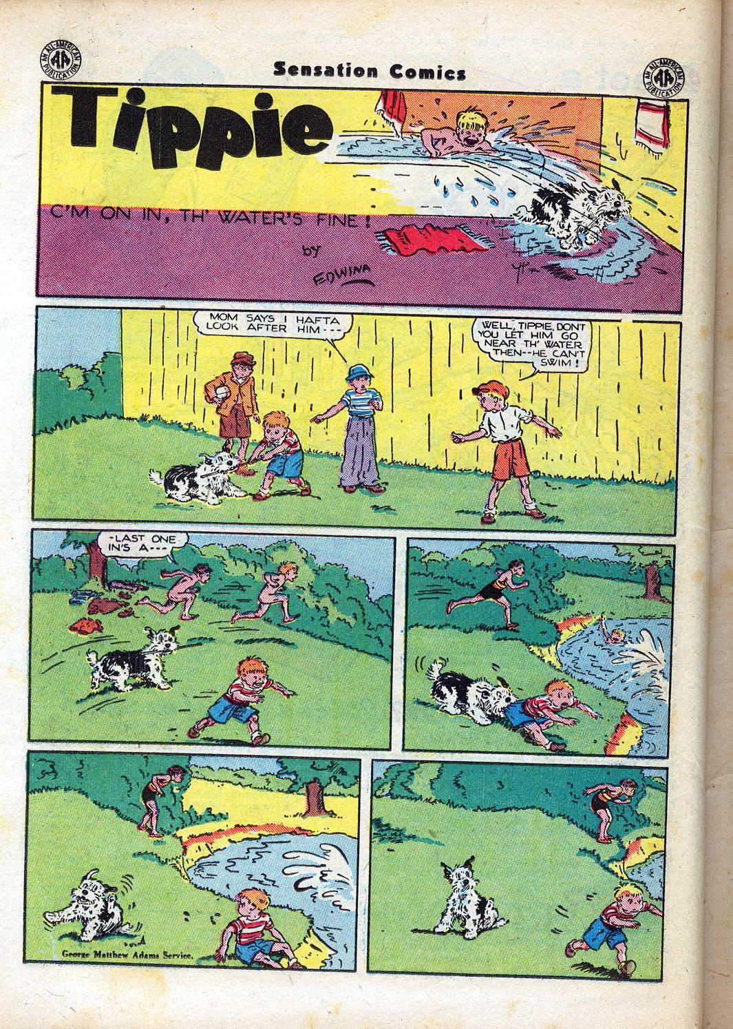 Read online Sensation (Mystery) Comics comic -  Issue #47 - 36