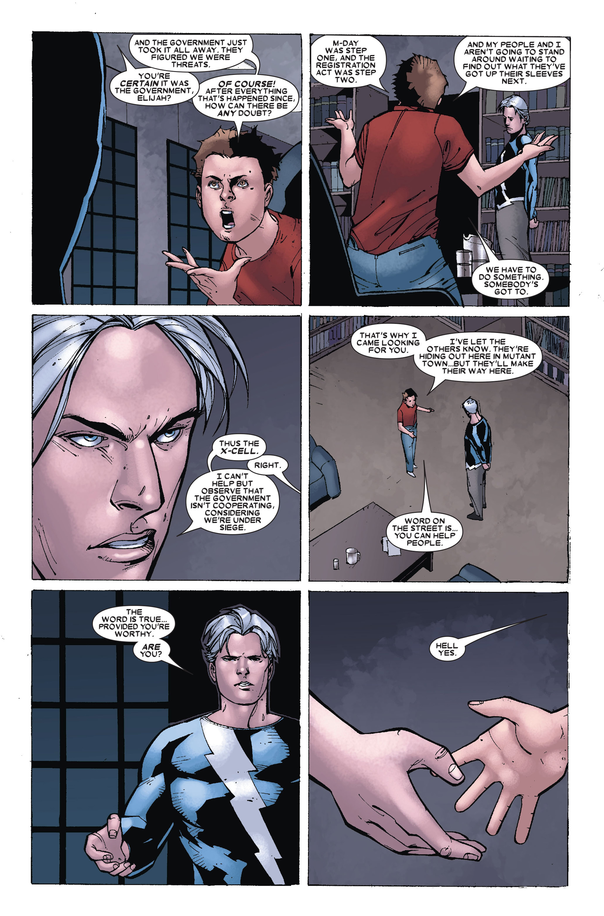 Read online X-Factor (2006) comic -  Issue #18 - 4