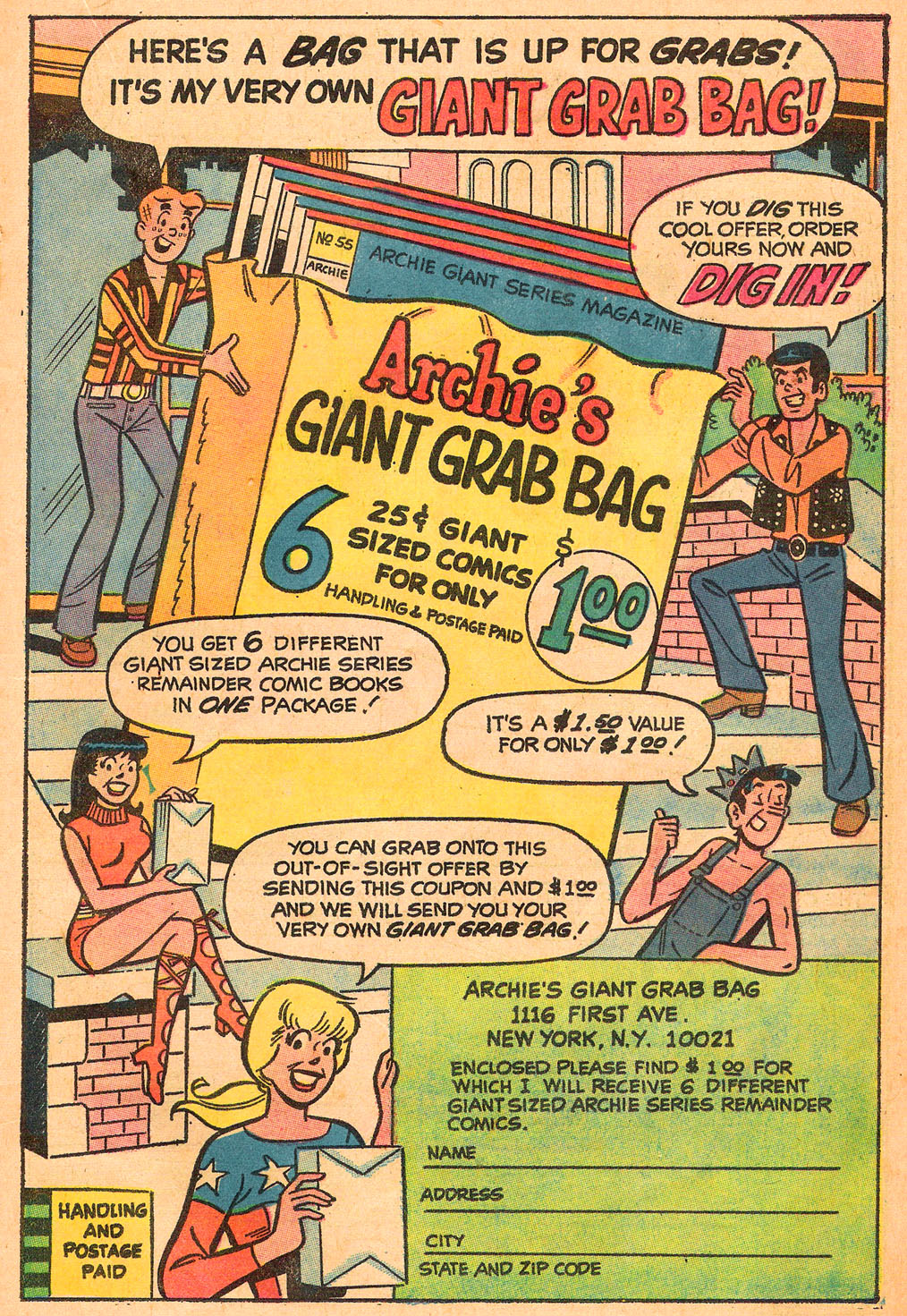 Read online Archie's Girls Betty and Veronica comic -  Issue #191 - 19