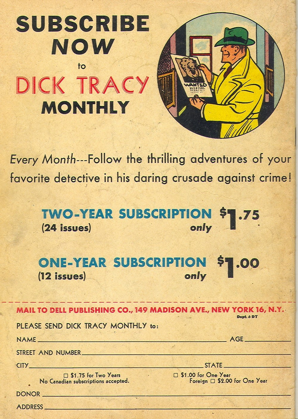 Dick Tracy Monthly issue 6 - Page 36